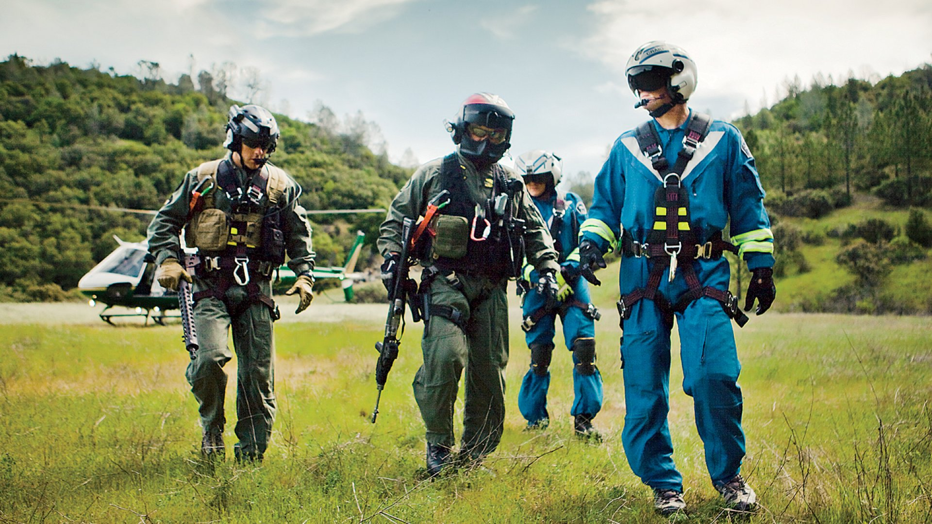 This Company Trains First Responders to Stage Helicopter Rescues