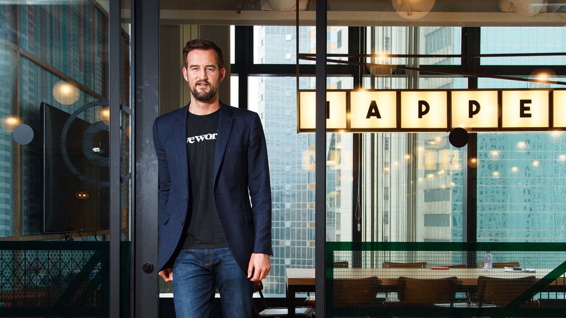 WeWork co-founder and CCO Miguel Mckelvey.