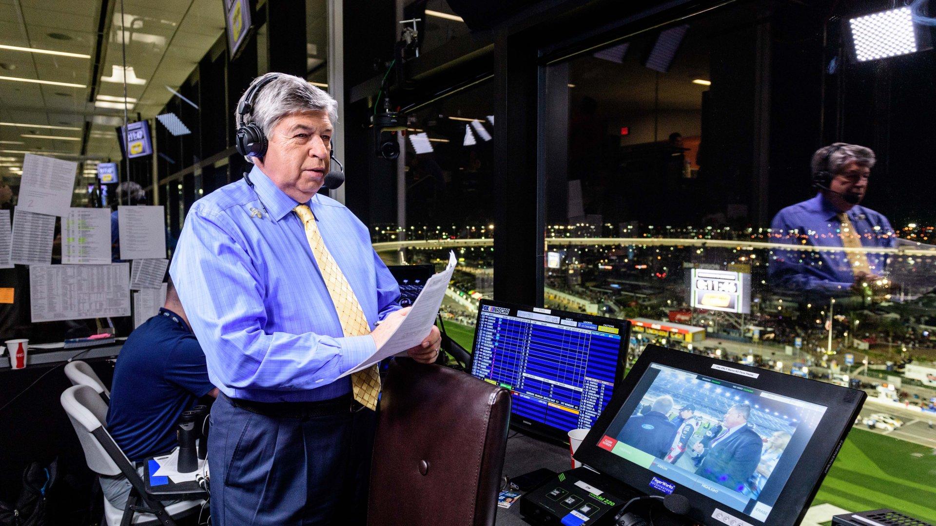 FOX announcer Mike Joy.