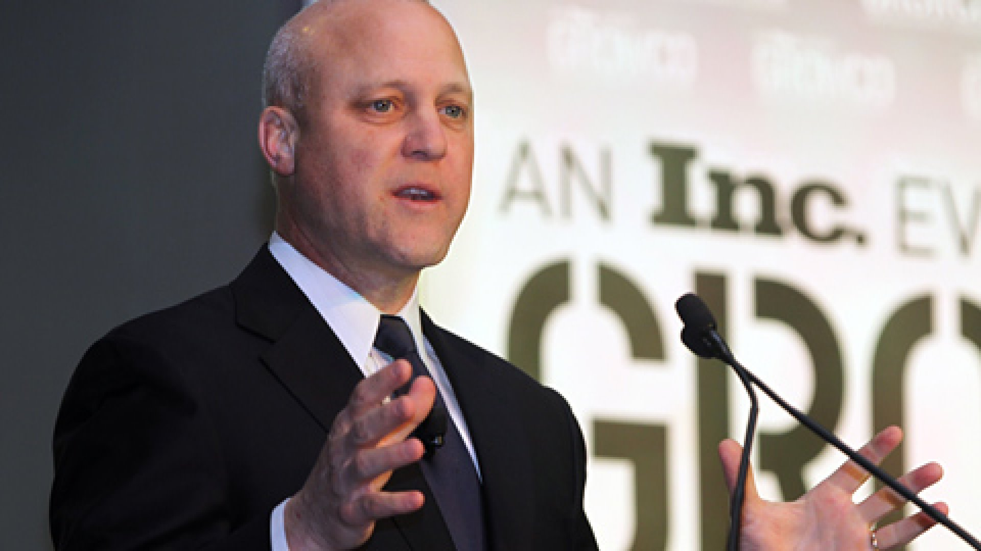 New Orleans Mayor Mitch Landrieu discussing what it takes to succeed.