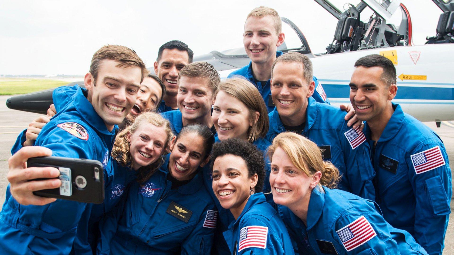 NASA's 2017 astronaut candidate class.