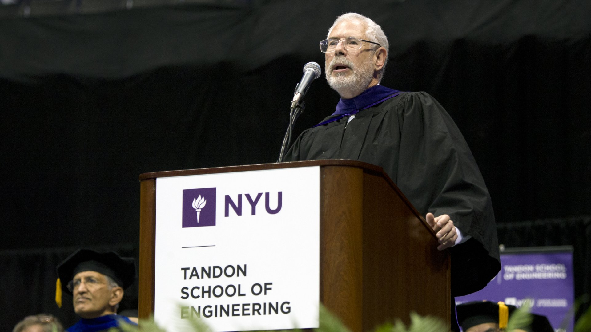 Steve Blank gave the 2016 commencement address at NYU's Tandon School of Engineering on Monday.