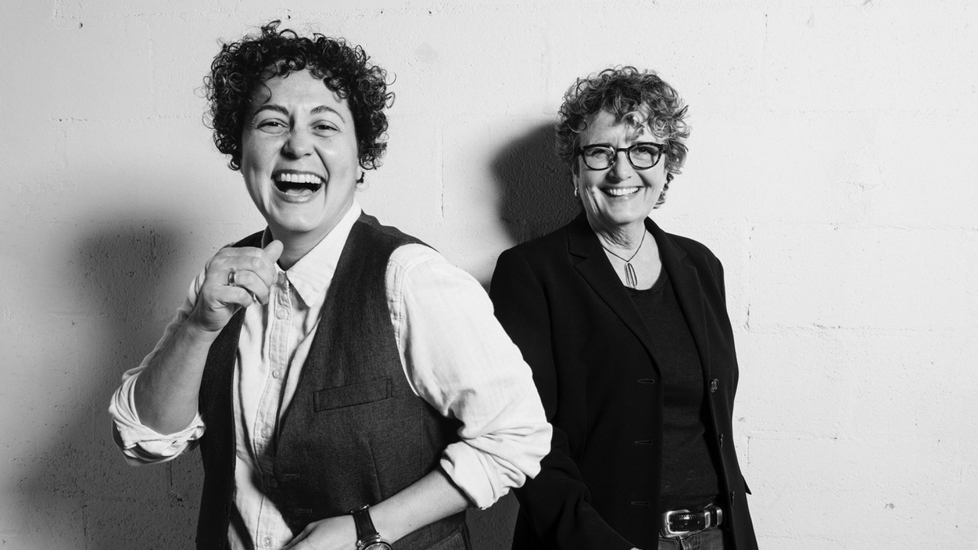 Naomi Gonzalez (left) and Fran Dunaway, co-founders of TomboyX.