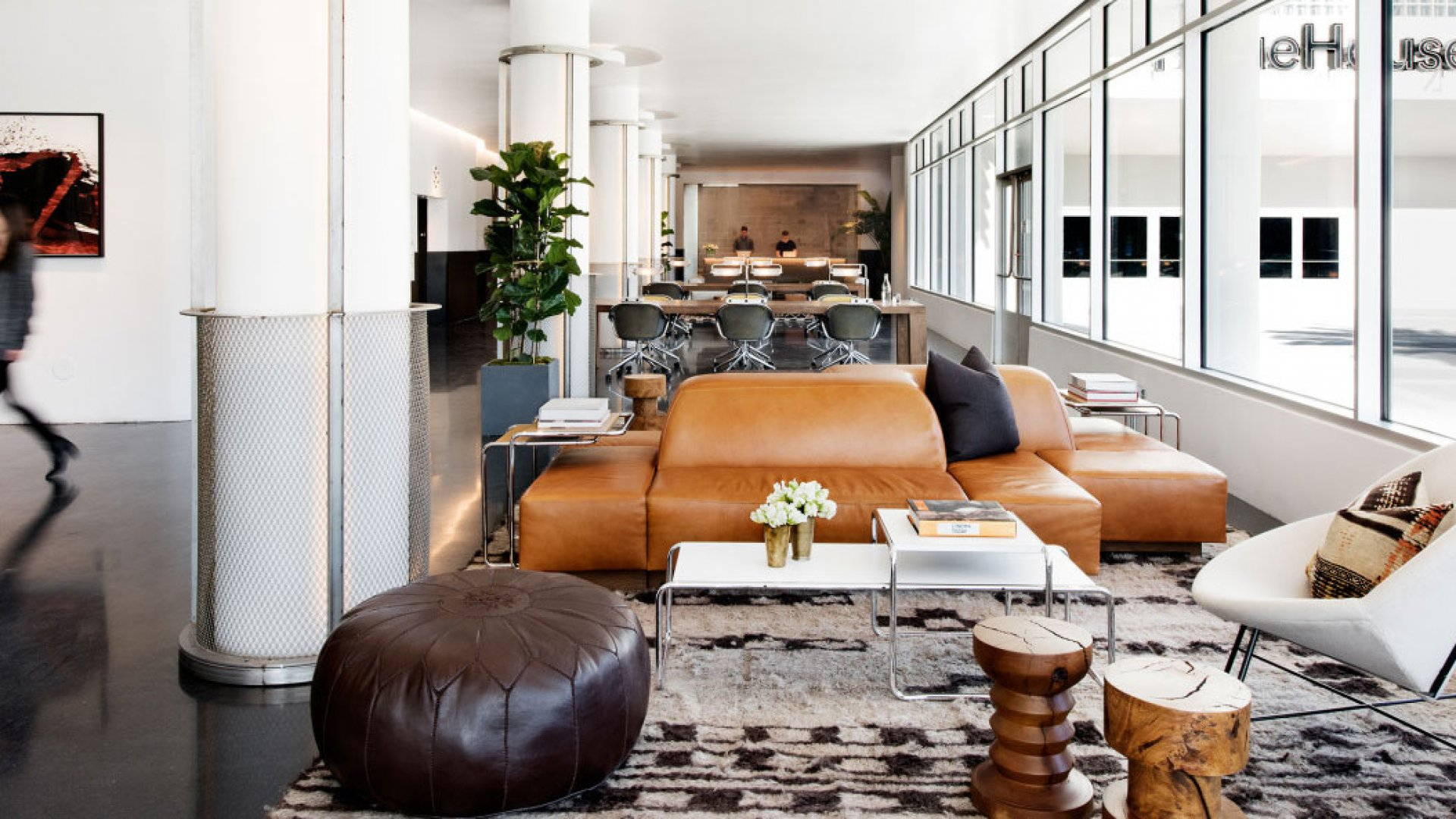 NeueHouse coworking space, Los Angeles.