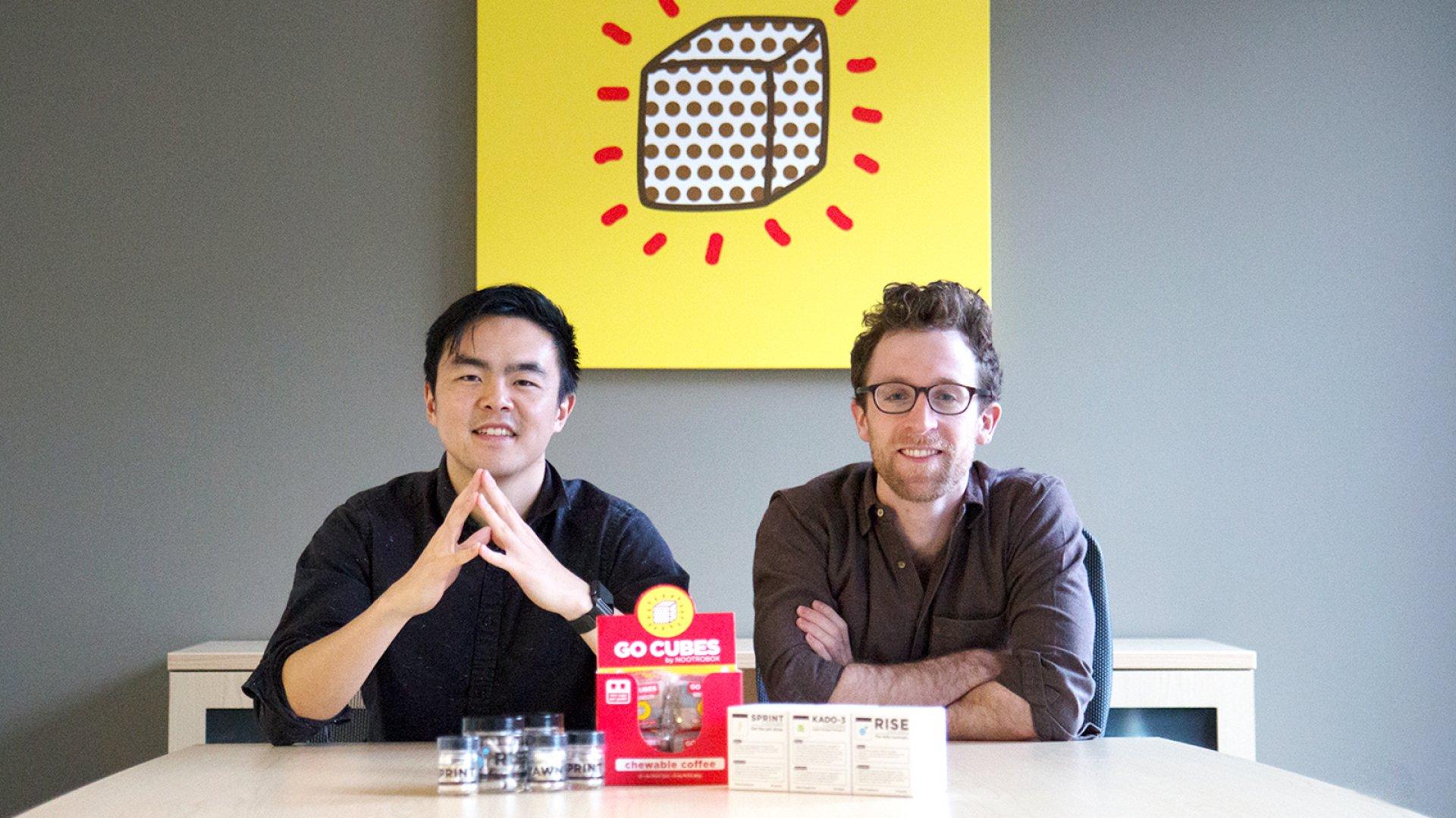 Nootrobox co-founders Geoff Woo and Michael Brandt.