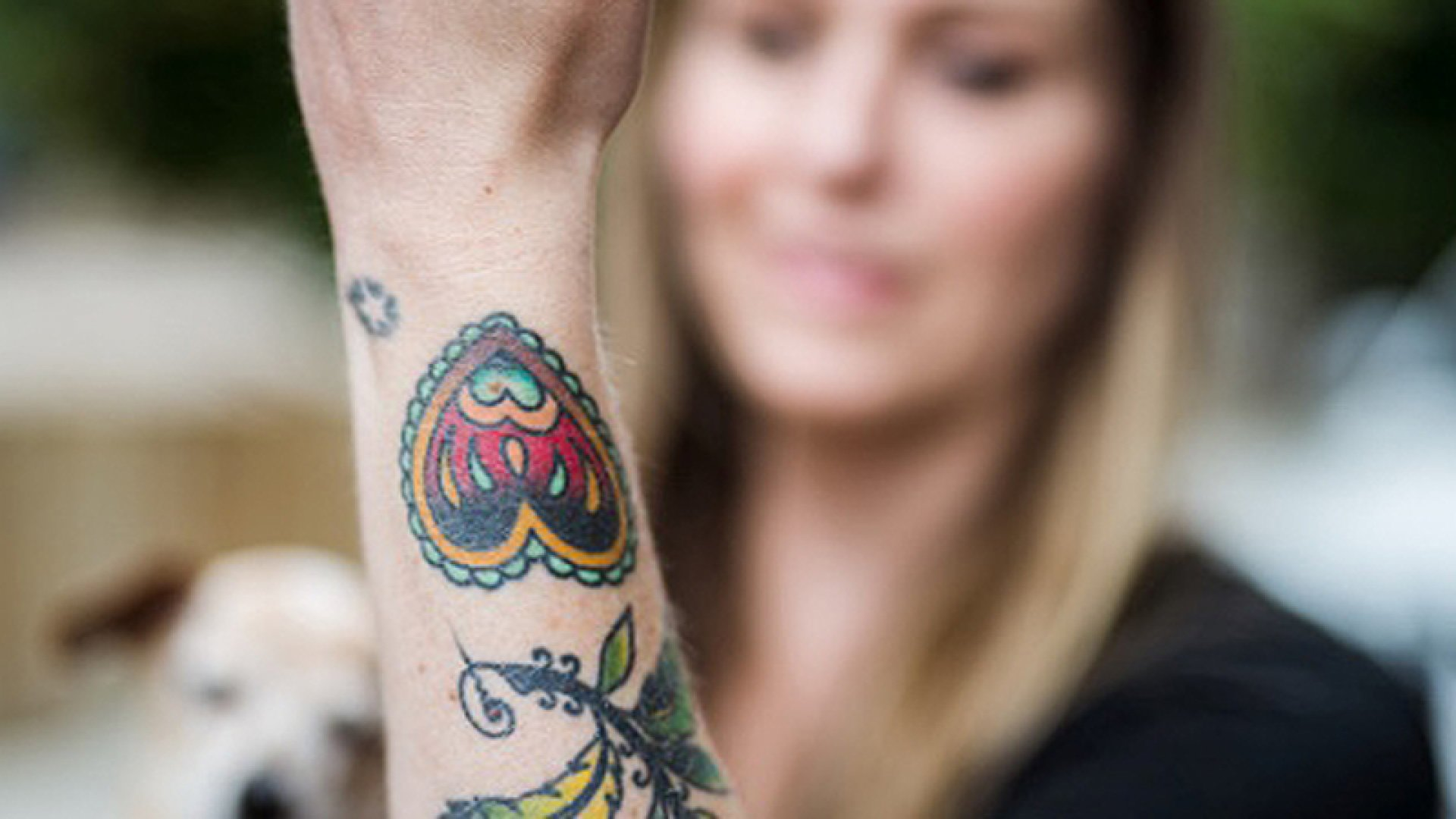 Everence offers customers a service in which they can incorporate DNA, hair or cremated remains into any tattoo.