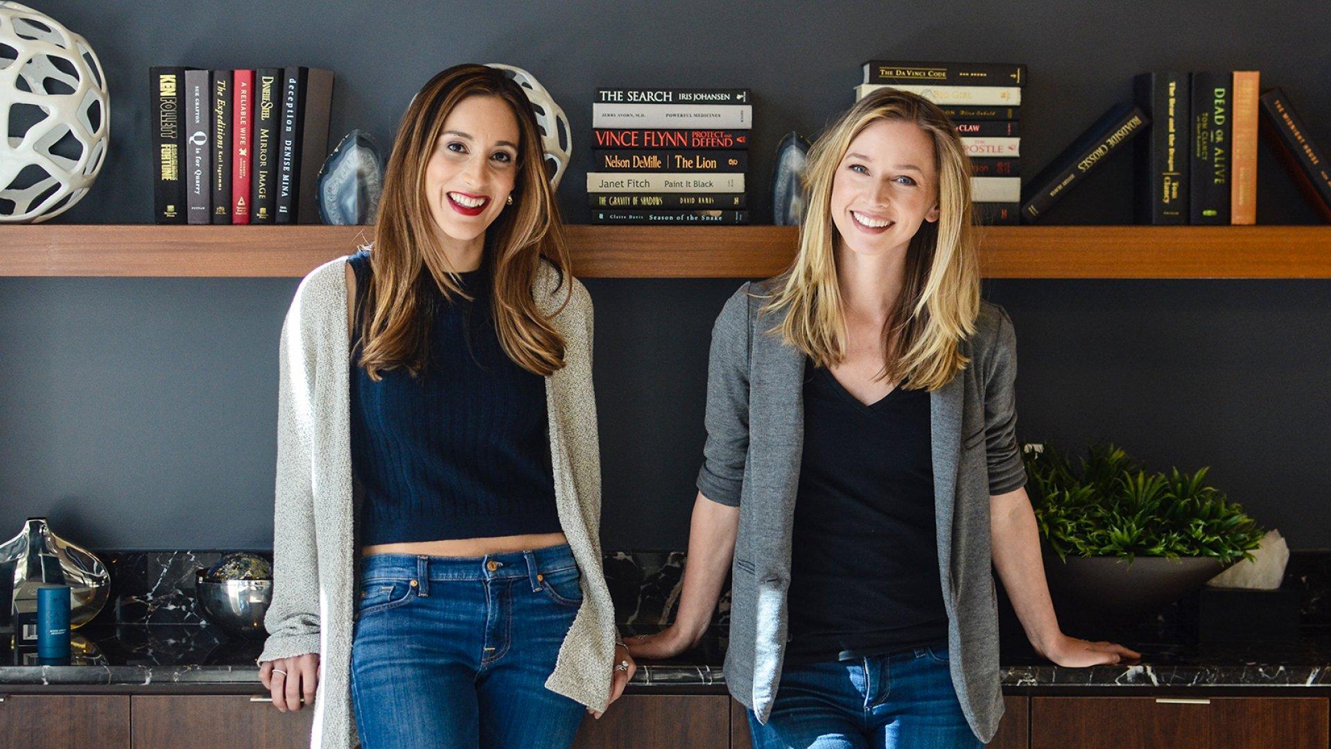 Oars+Alps co-founders Mia Duchnowski (left) and Laura Cox.