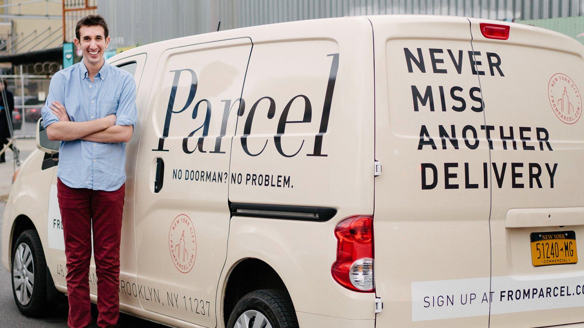 Parcel founder Jesse Kaplan.