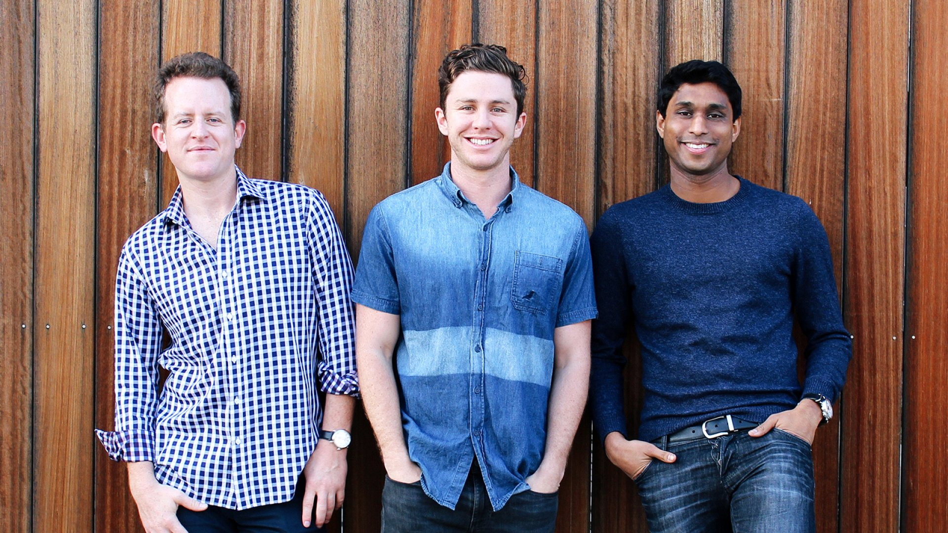 Kairos partners Ryan Bloomer, Alex Fiance, and Ankur Jain. Kairos will be investing in young startups that are proposing solutions to global challenges.