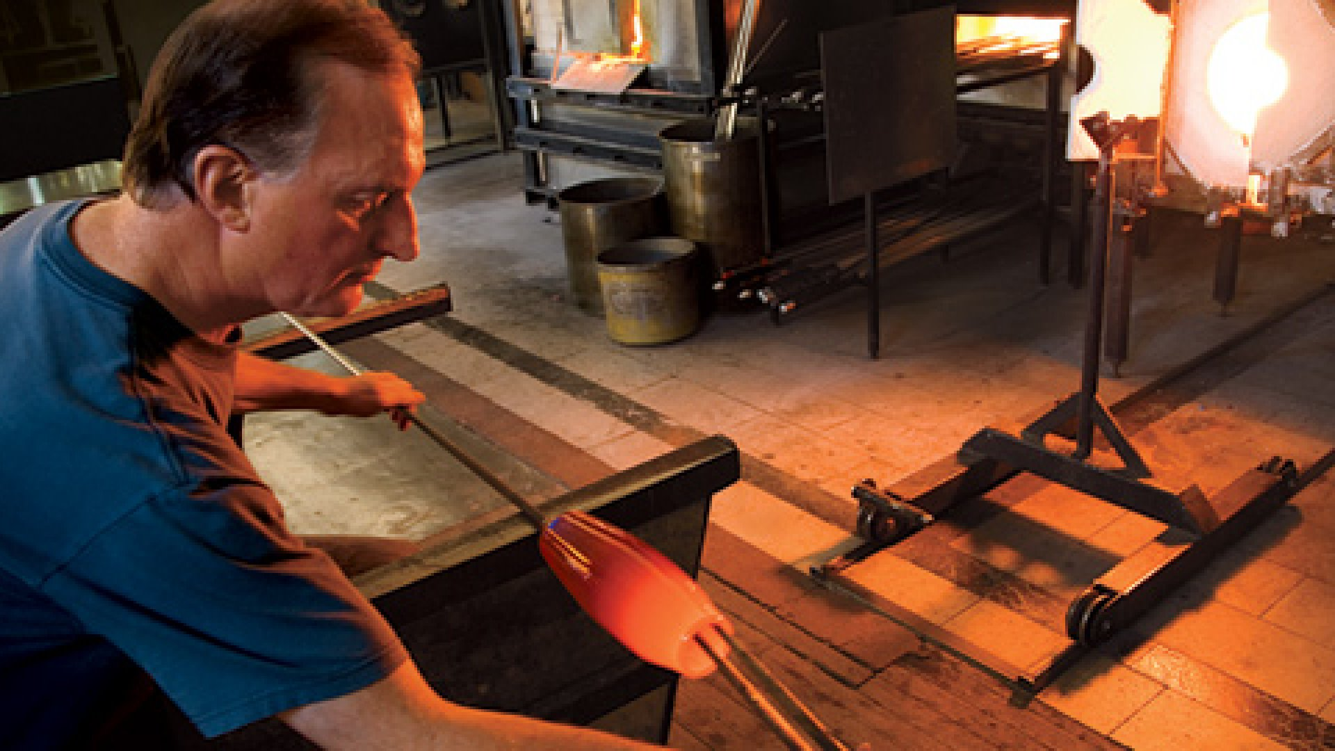 CEO Passions: Glass Blowing