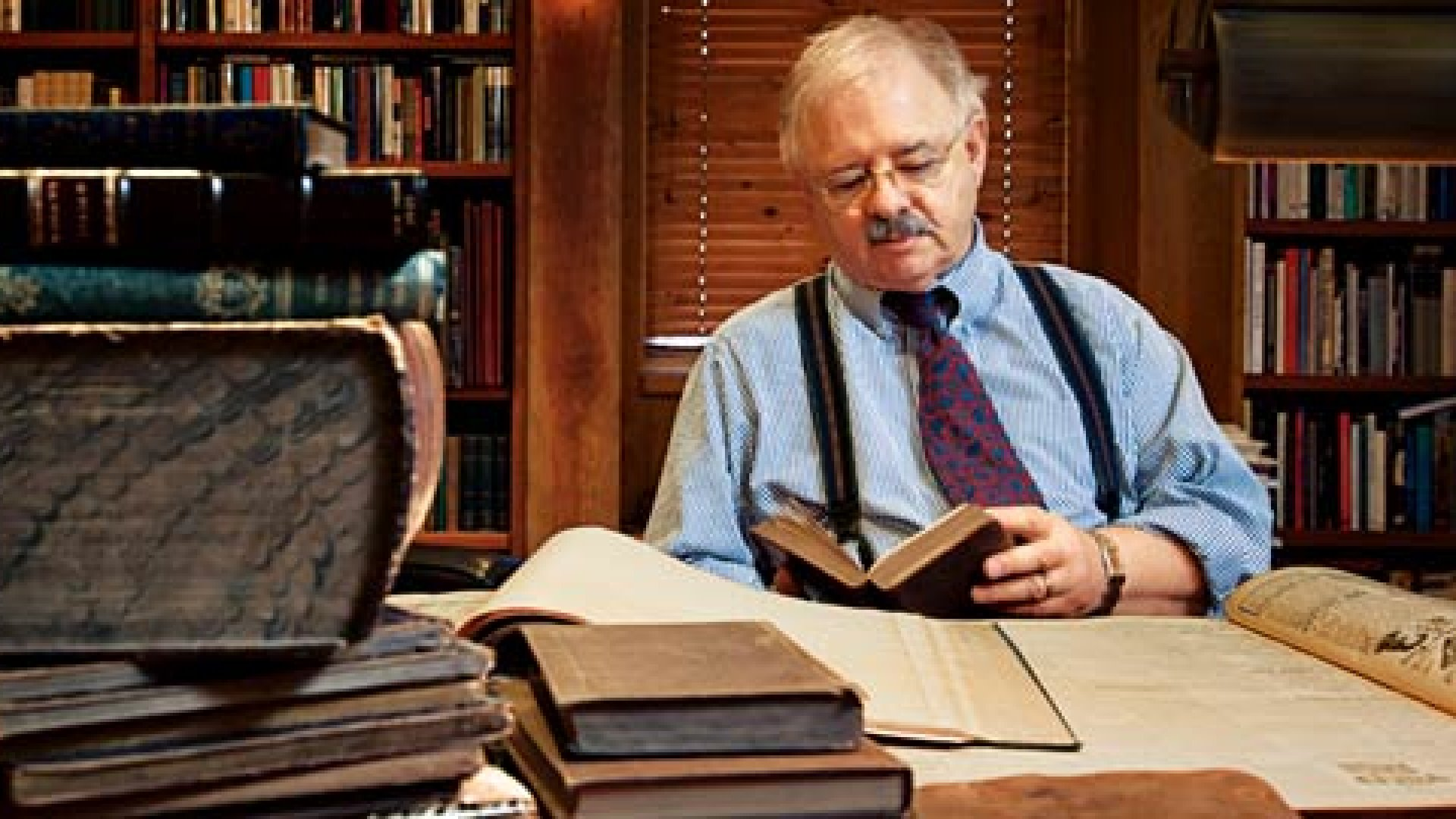 CEO Passions: Collecting Rare Books