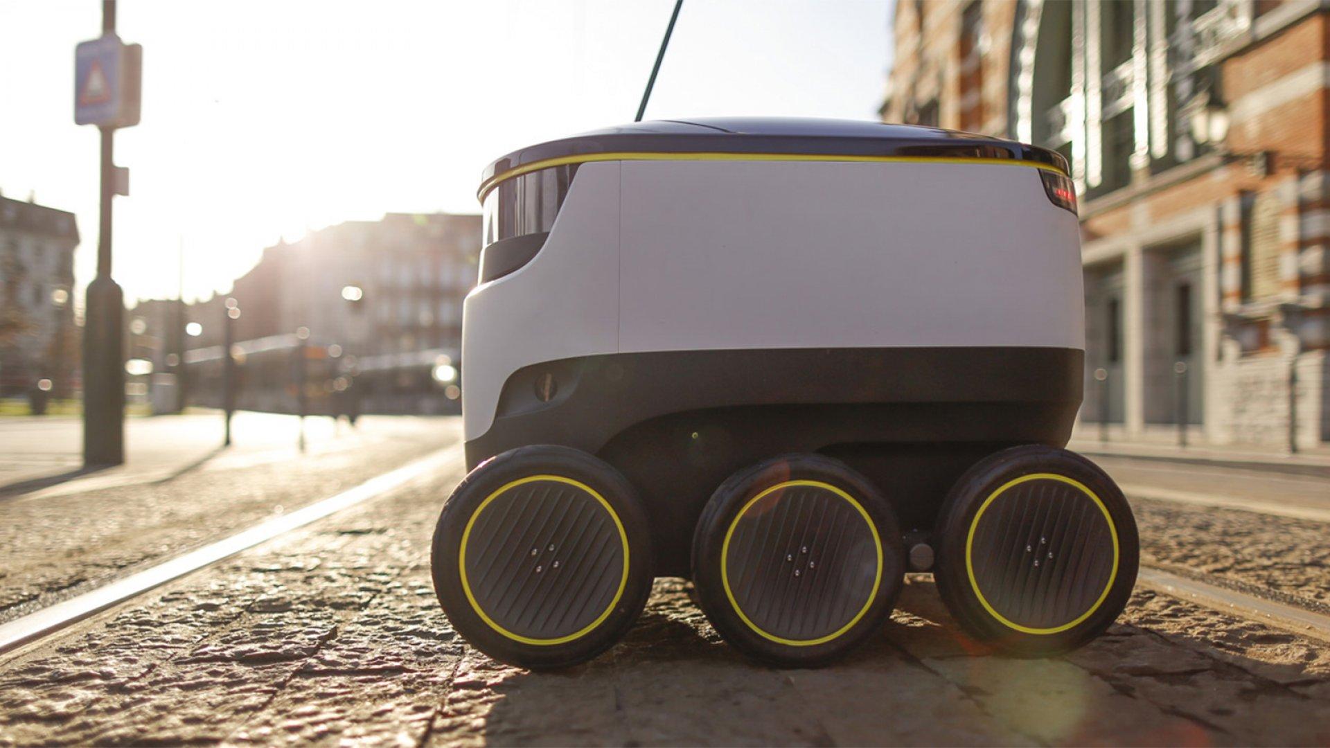 Autonomous Robot Delivery Is Now Legal in Florida
