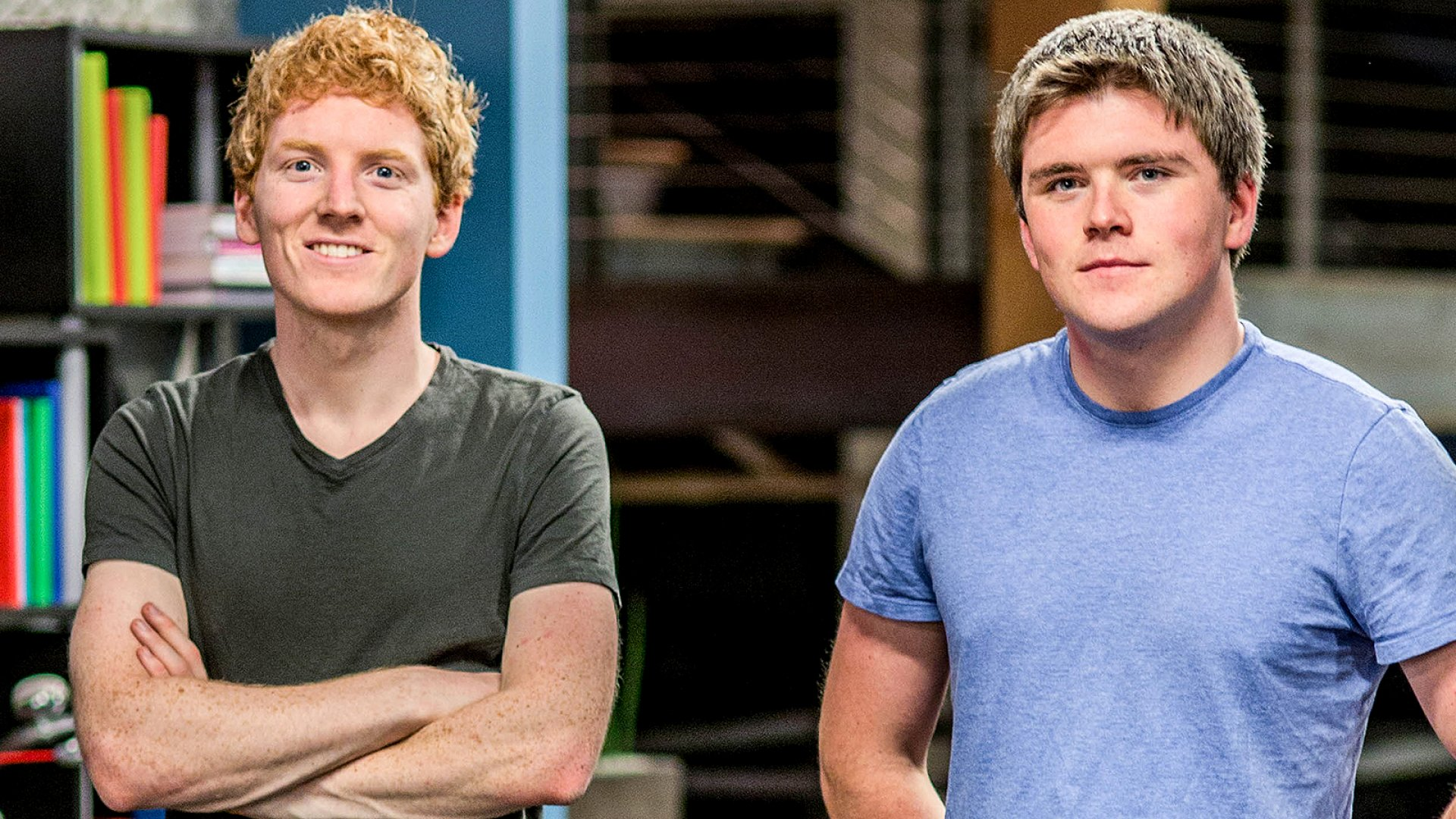 Patrick and John Collison.