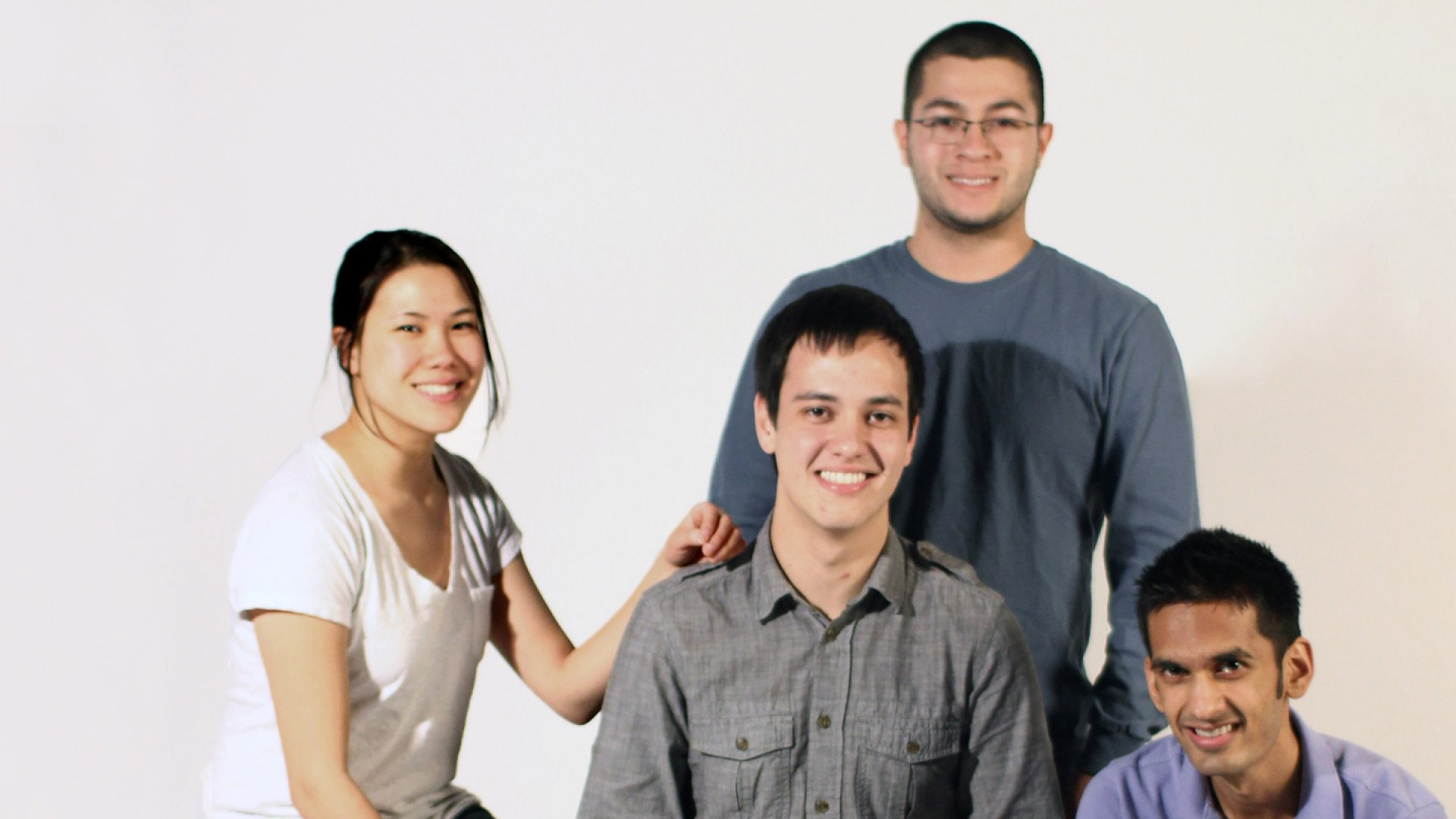The PayTango team: Kelly Lau-Kee, Brian Groudan, Umang Patel, Christian Reyes.