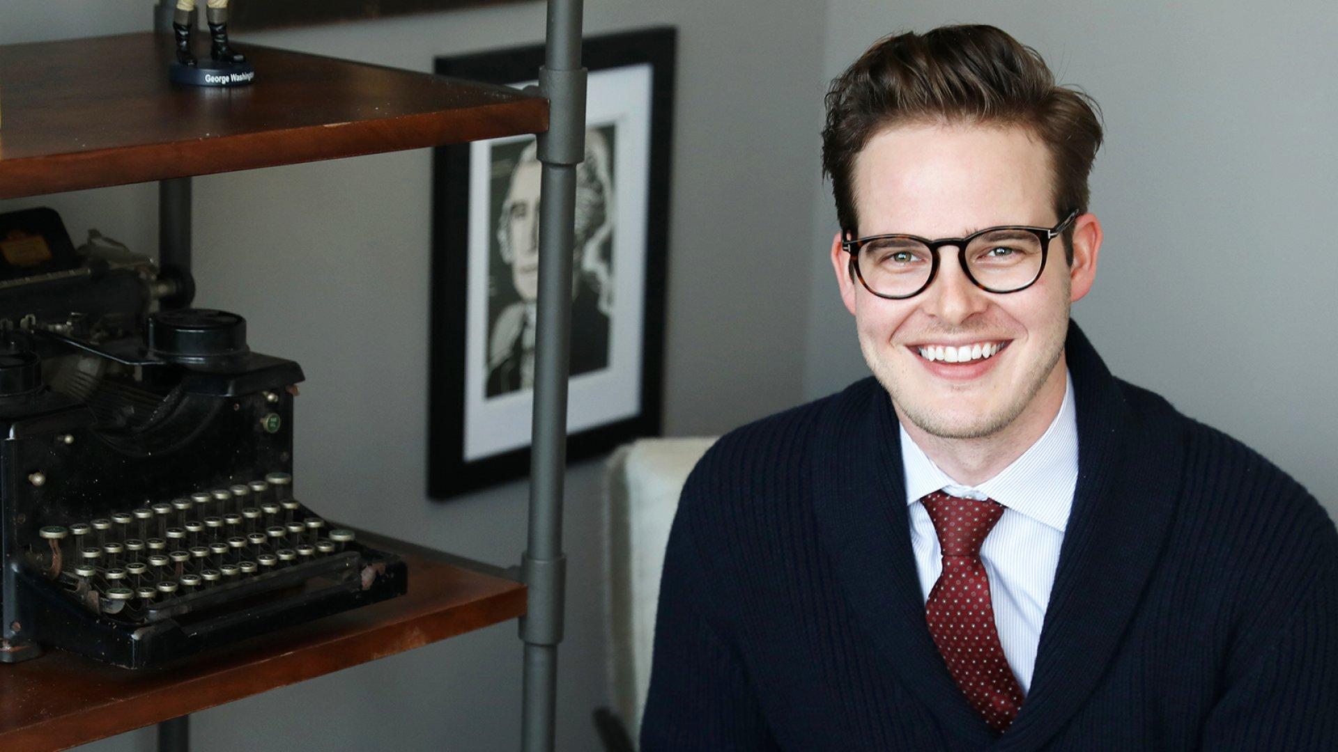 The Penny Hoarder<em> </em>founder Kyle Taylor.