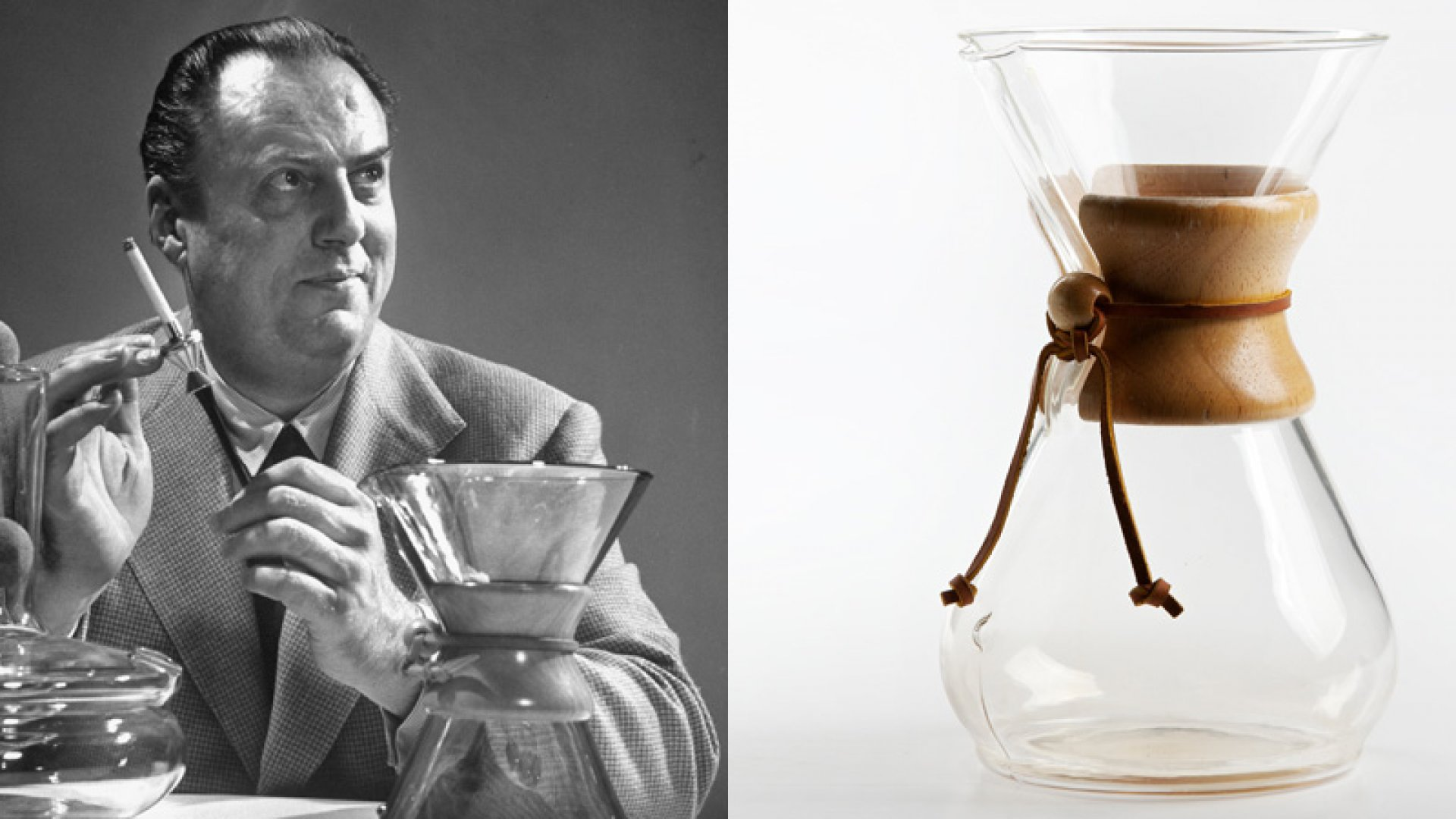 Inside the Genius Design of the Chemex Coffeemaker