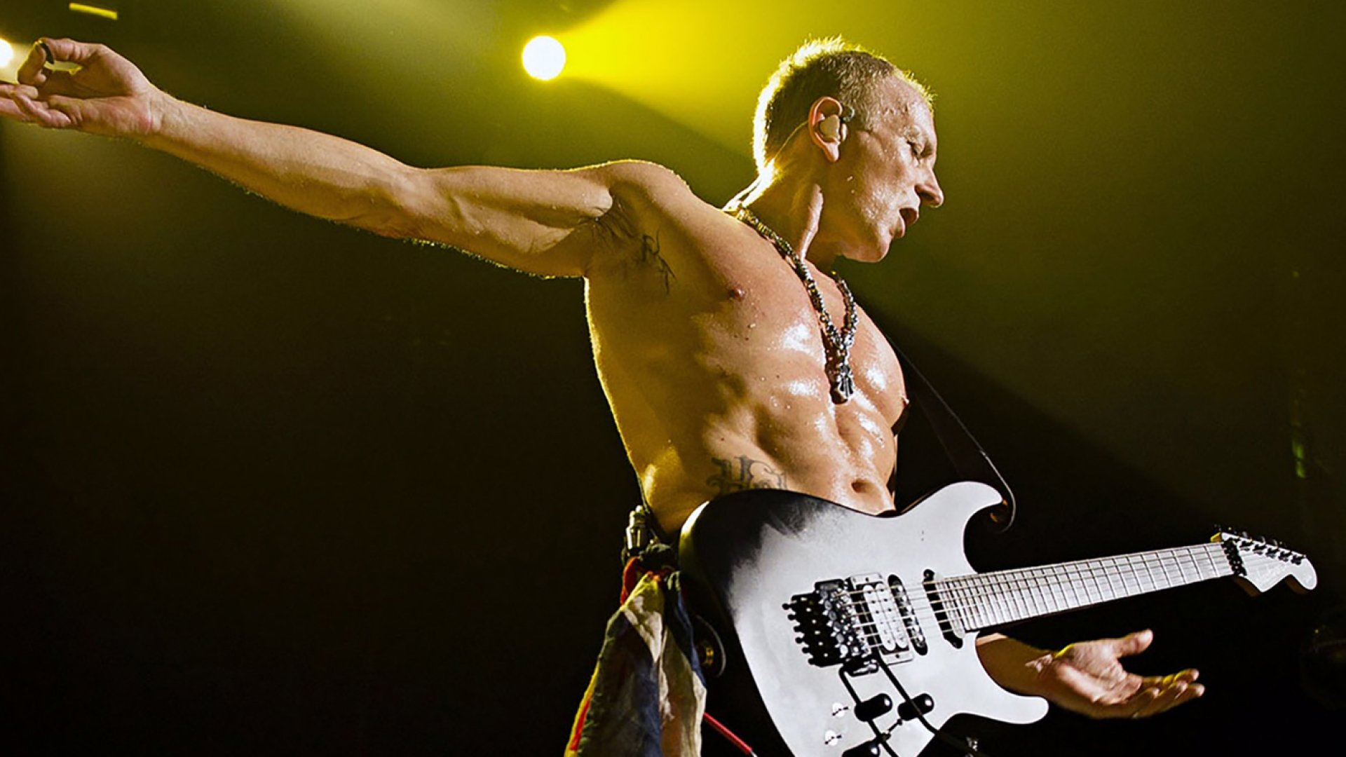 Def Leppard guitarist Phil Collen.