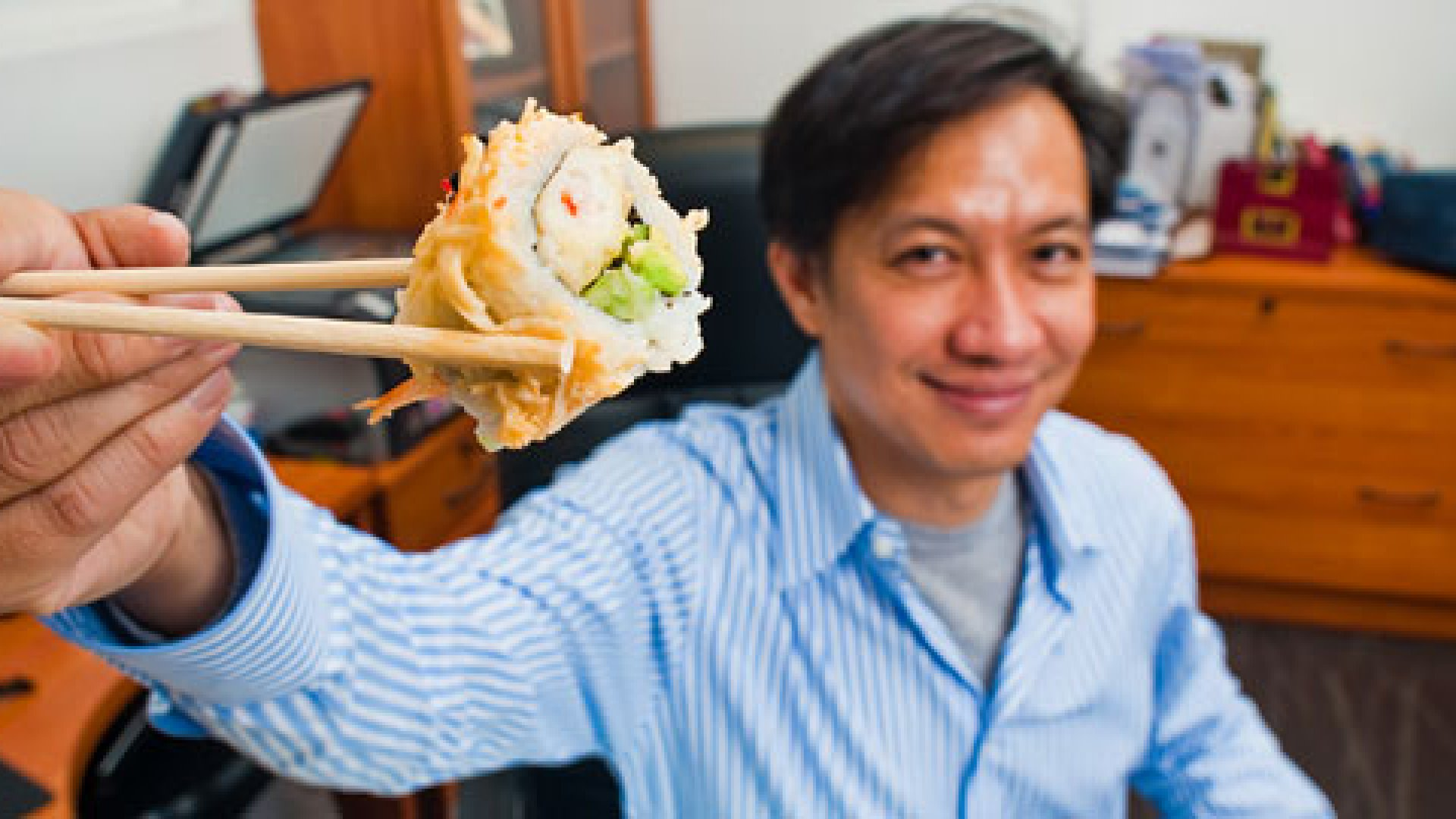 Philip Maung, is the founder of Charlotte, North Carolina-based franchise Hissho Sushi.