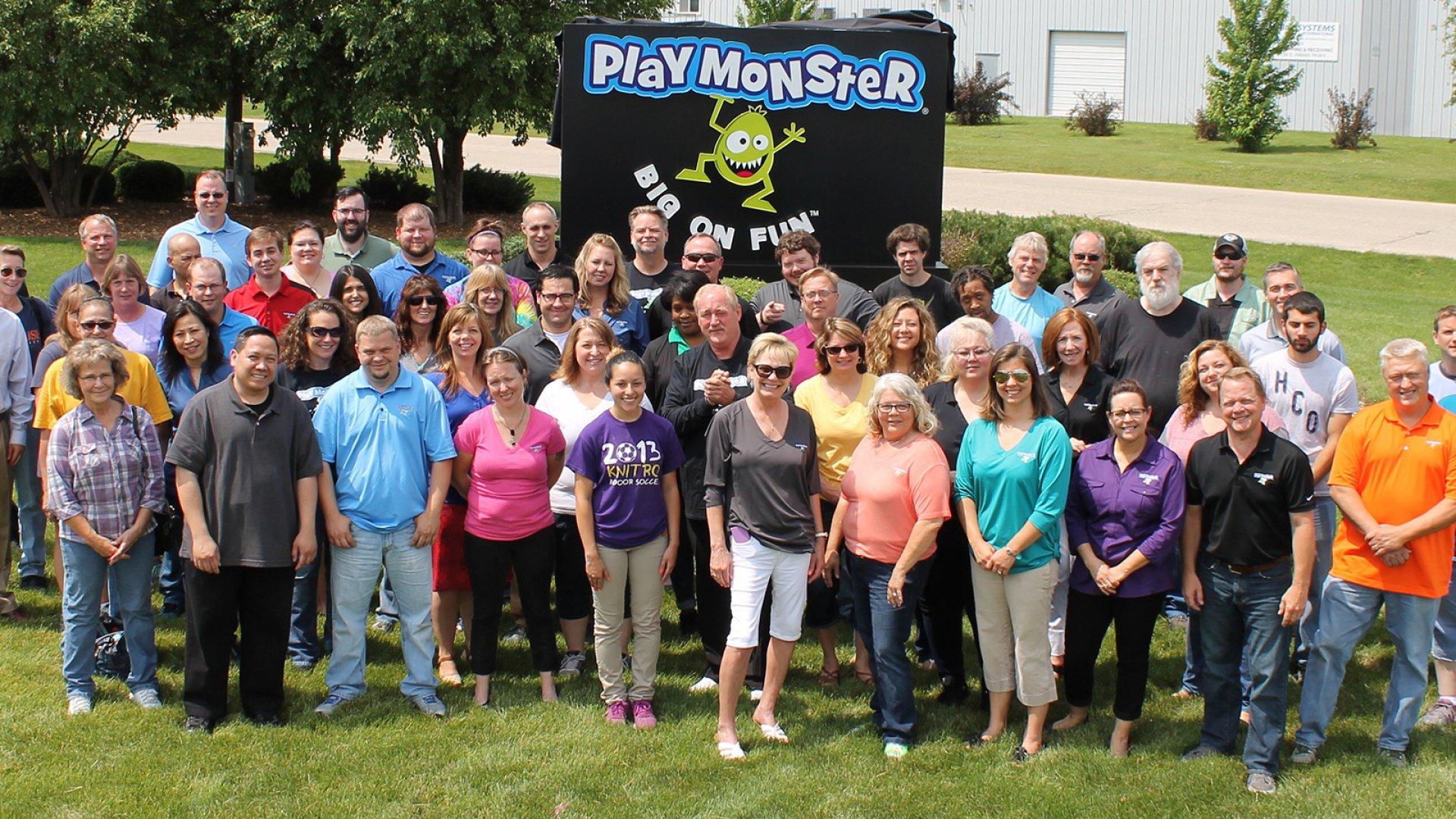 PlayMonster staff.