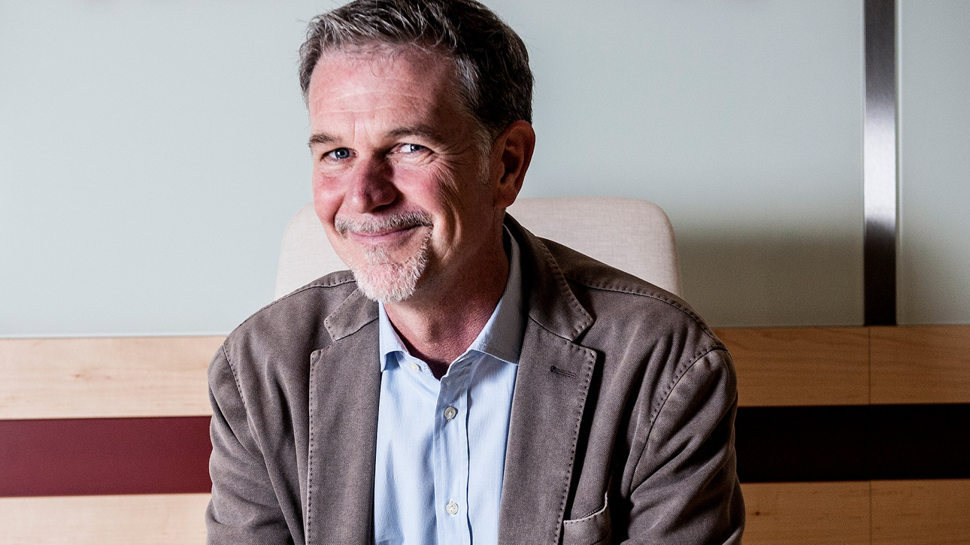 Netflix CEO and co-founder Reed Hastings.