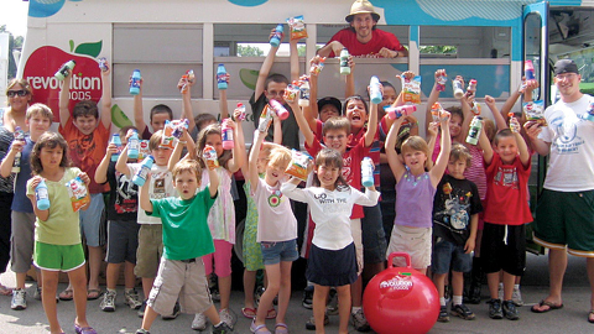 Revolution Foods Summer Tour 2009