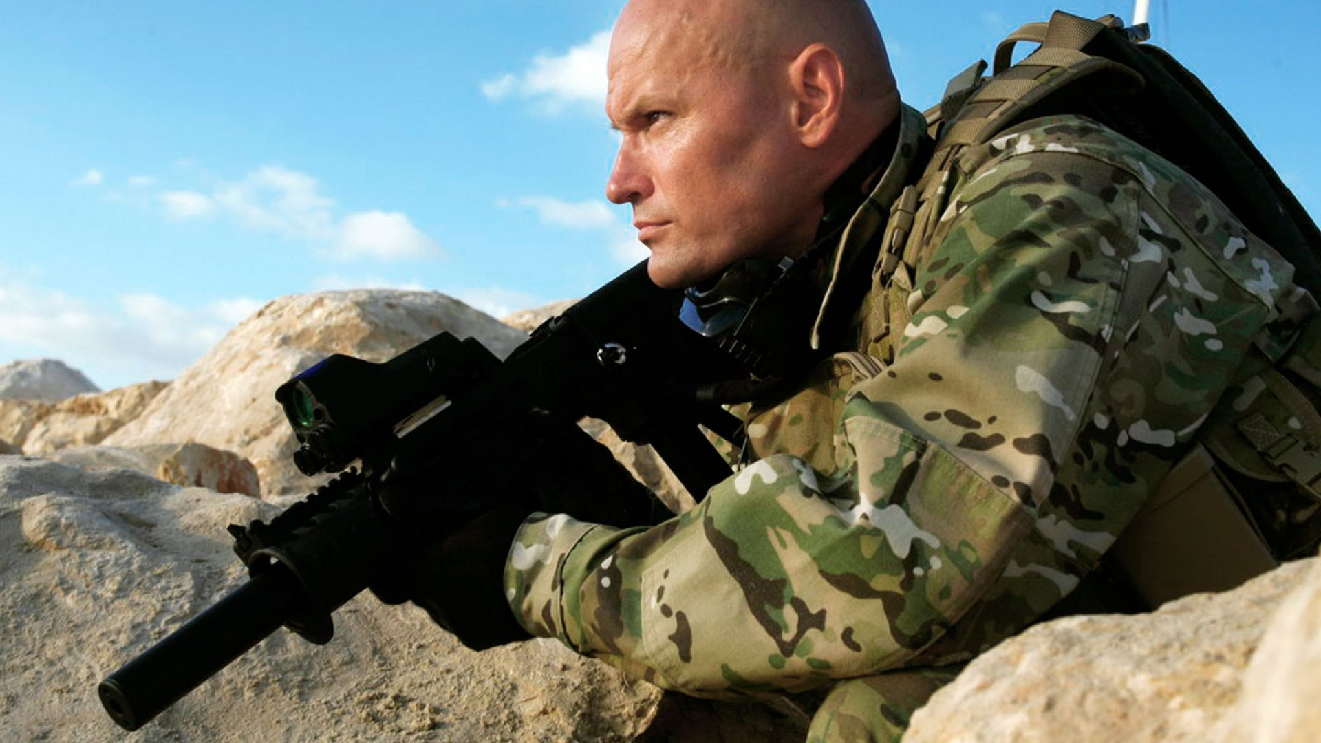 Richard Machowicz, a former Navy SEAL, author, and host of the Discovery Channel show <em>Future Weapons.</em>