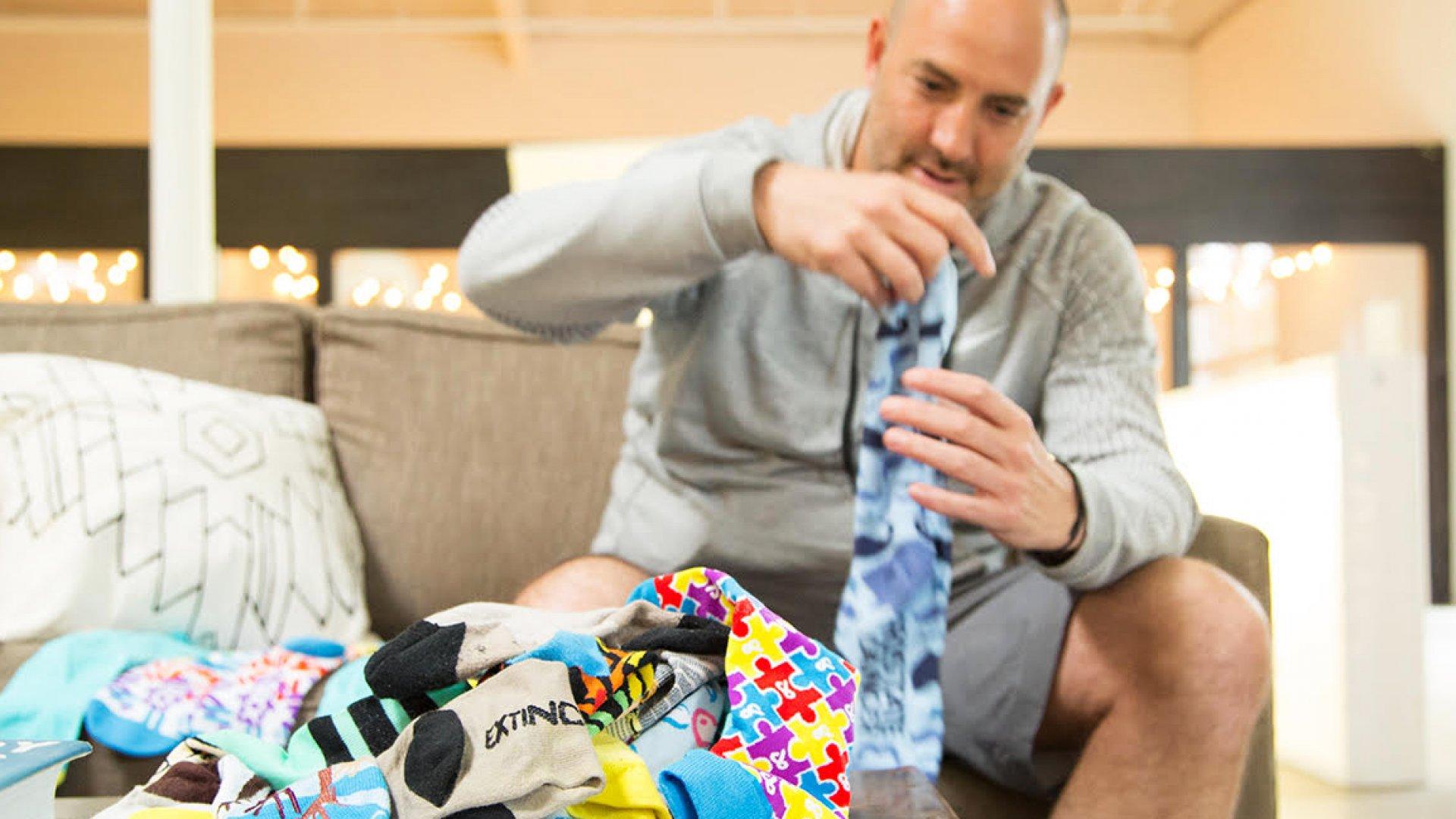 Ryan Berman CEO Sock Problems.