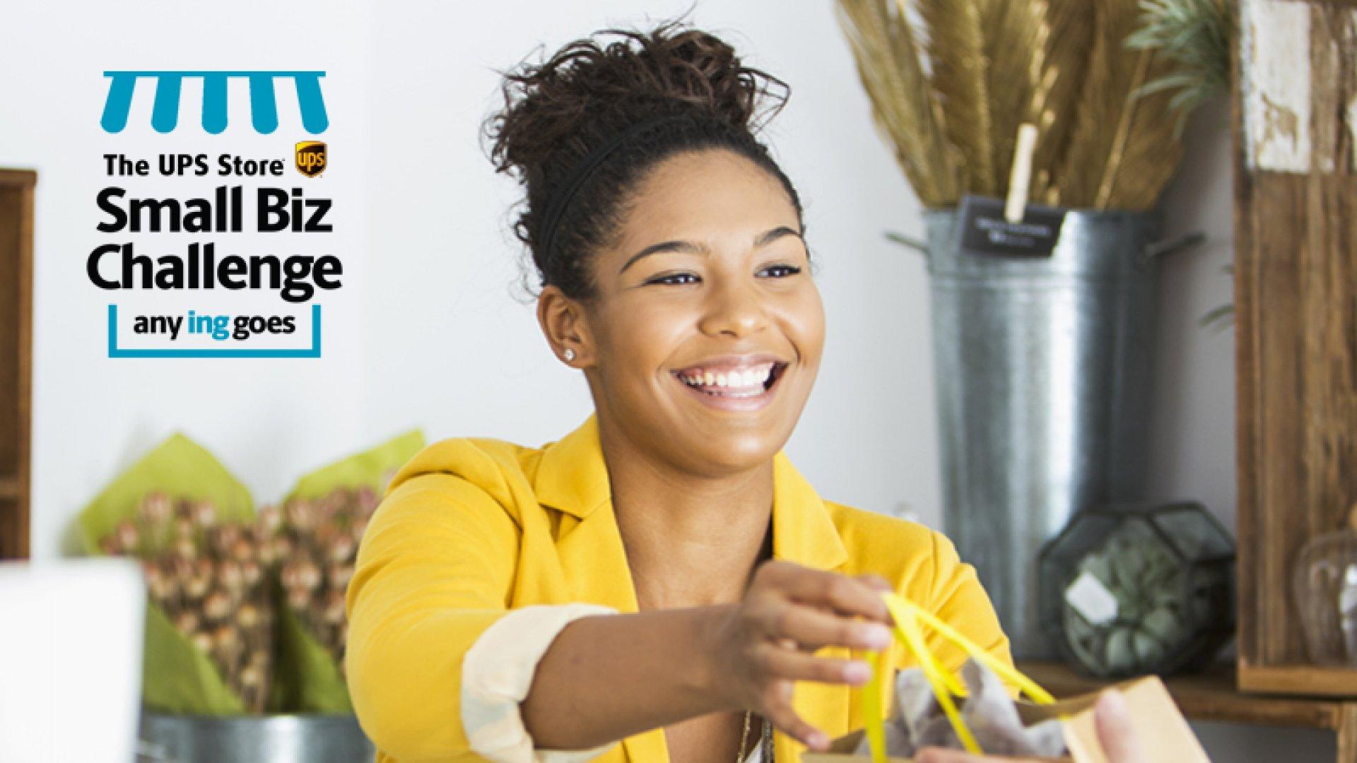 The UPS Store® Small Biz Challenge