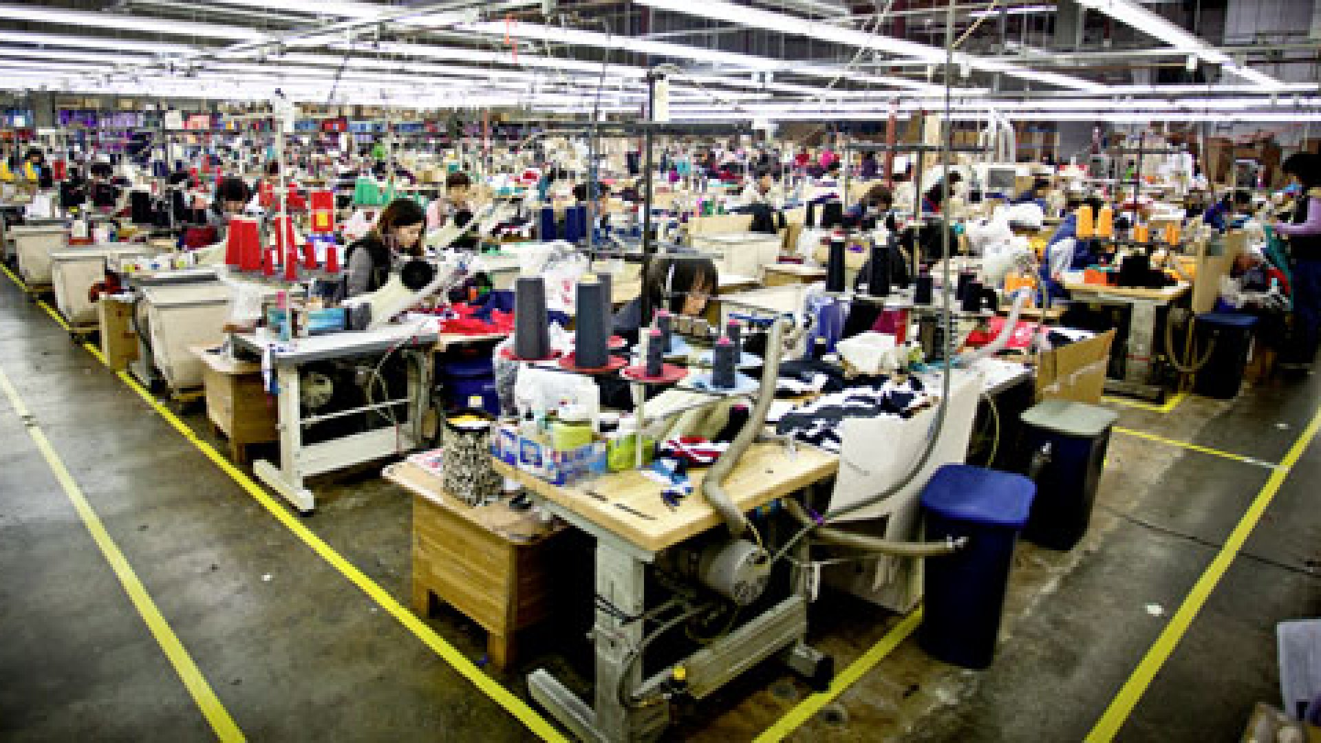 SFO Apparel in Brisbane, California is the exclusive manufacturer for American Giant.