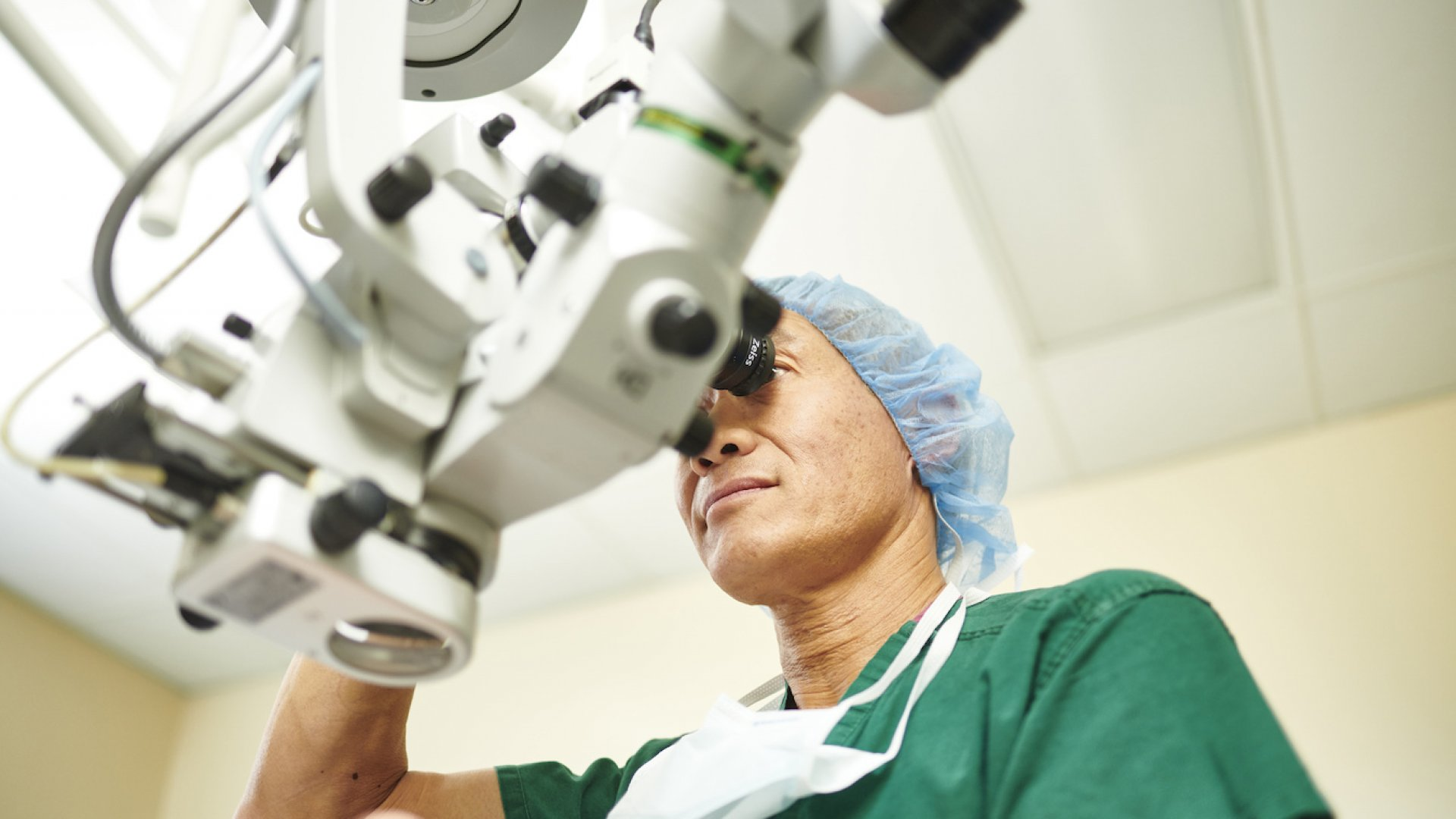 Dr. Eric Suan, founder of the Mid-Atlantic based Retina Care Center