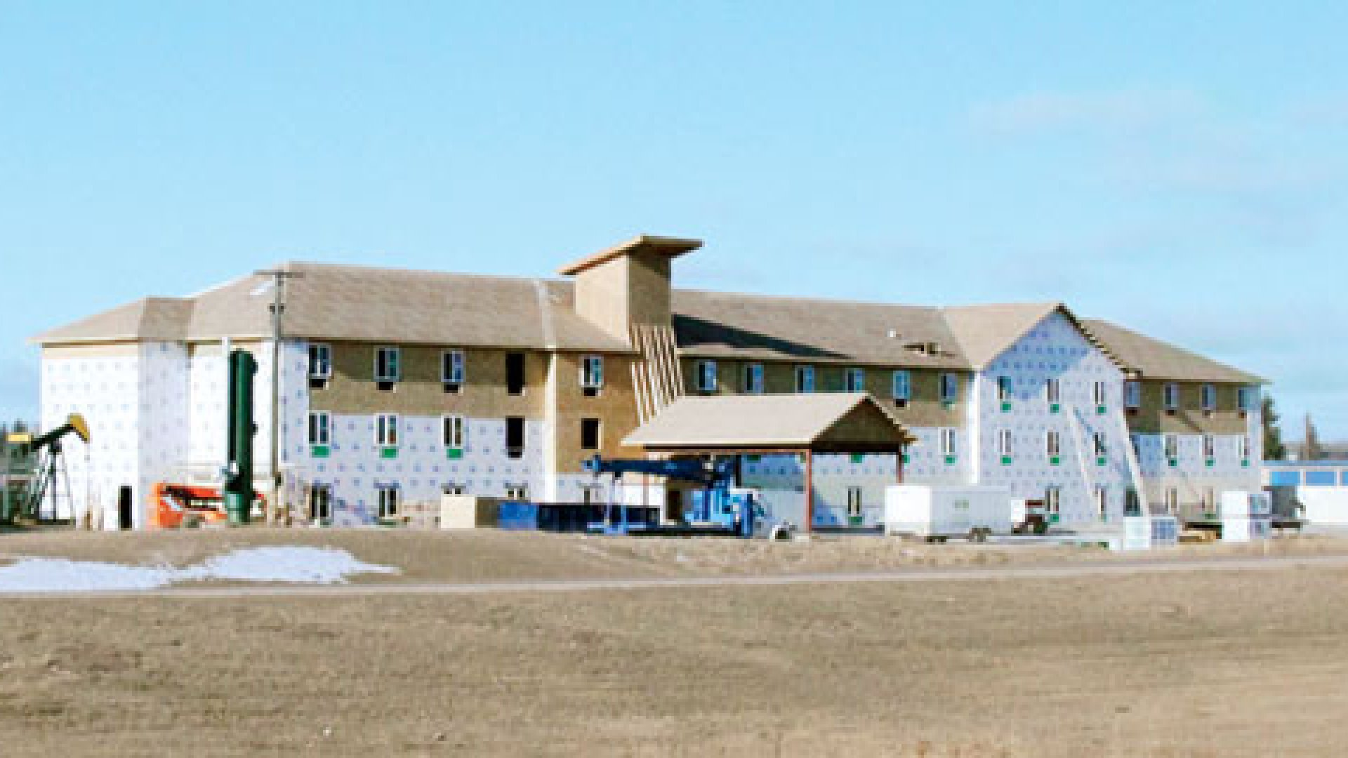 <b>Welcome to the Hotel Brodsky</b> In March, about 100 oilcompany workers in northern North Dakota will call this place home.