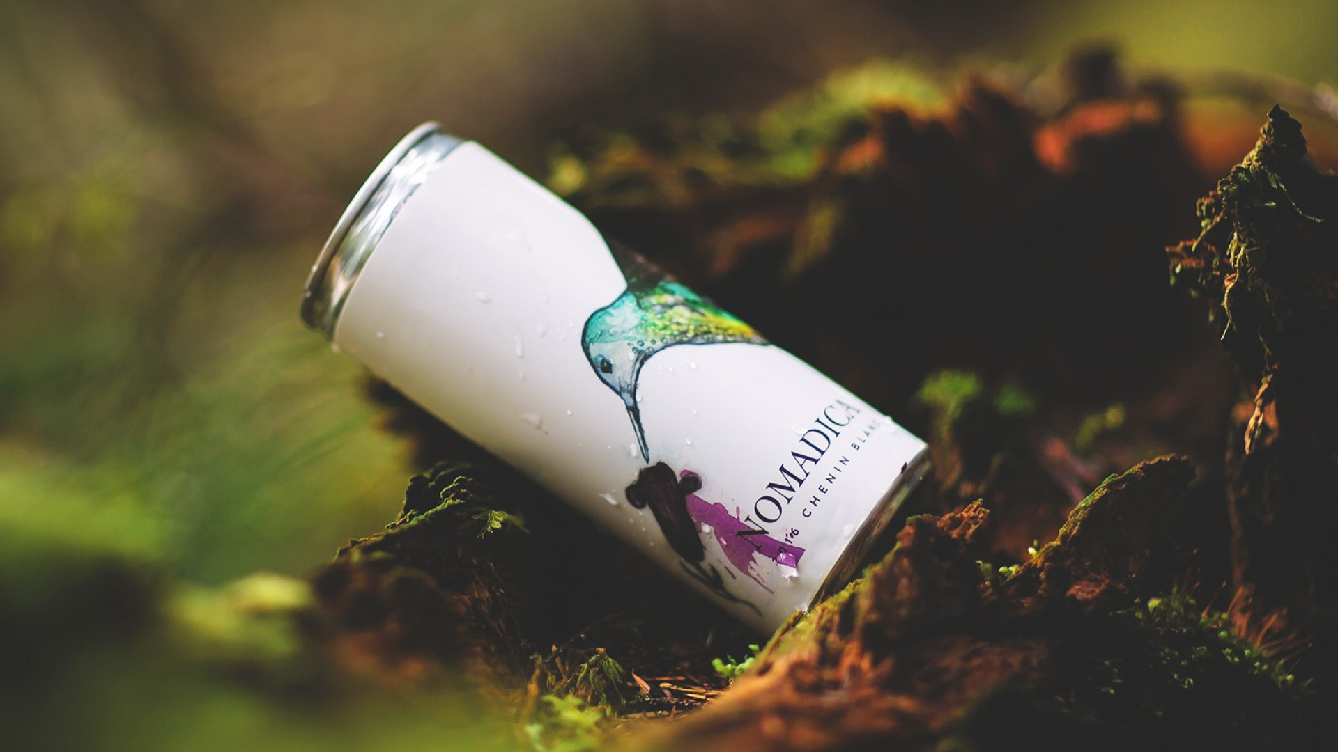 Nomadica, based in Los Angeles, sells canned wines from all over the world.