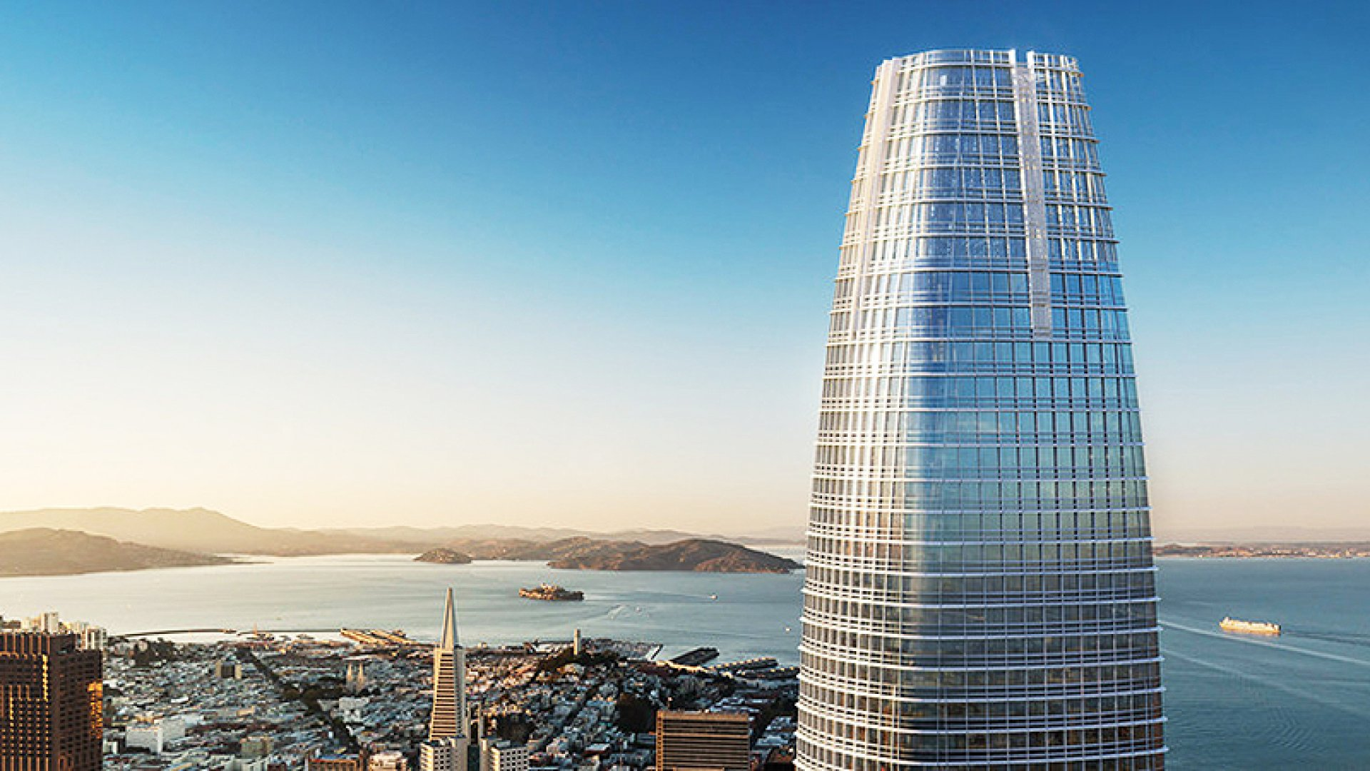 Marc Benioff on Why He's Leaving the Top Floor of New Salesforce Tower Empty