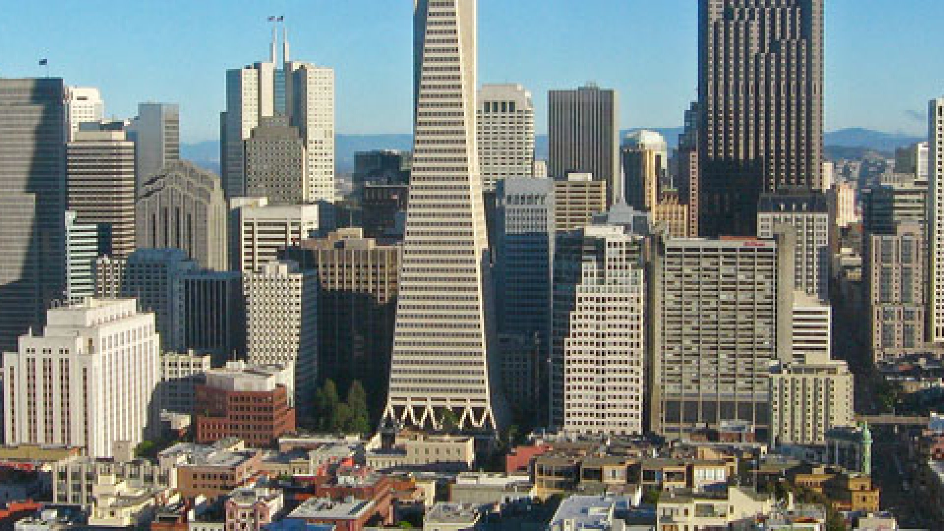 A view of San Francisco, where commercial real estate is booming.