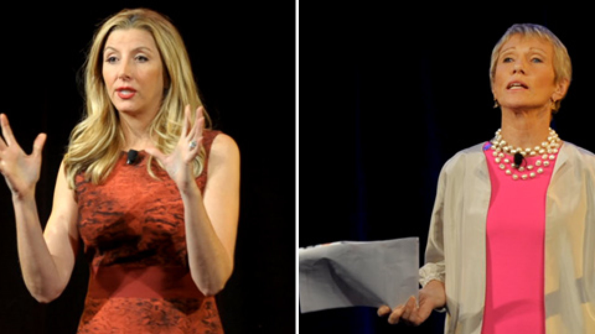 Sara Blakely, founder of Spanx, and real-estate entrepreneur Barbara Corcoran spilled their sales secrets at the Inc. Women's Summit.
