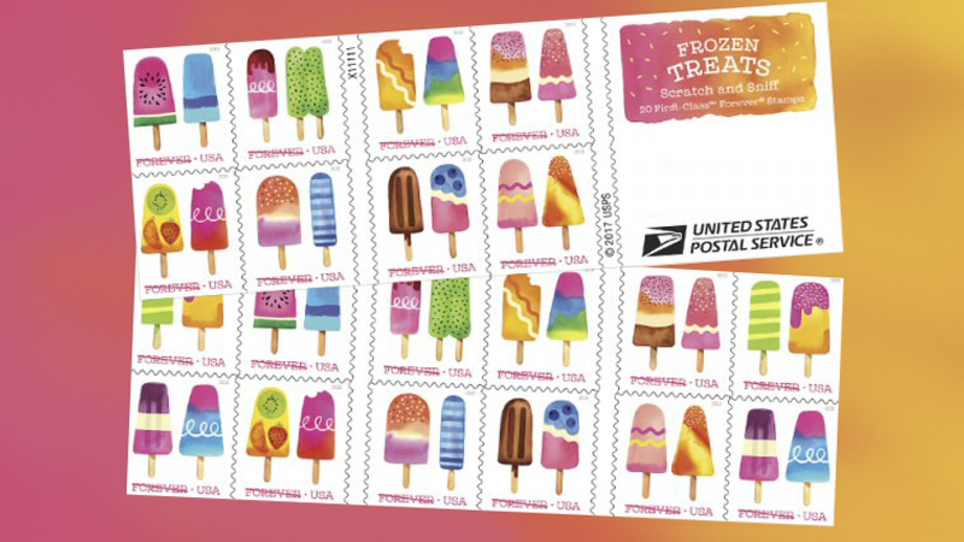 Why the Post Office Smells a Winner With Scratch-n-Sniff Postage Stamps