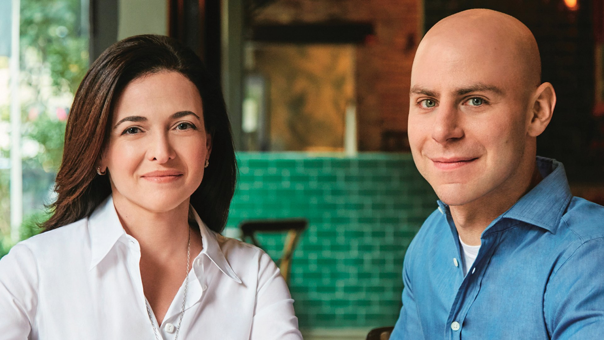 Option B co-authors Sheryl Sandberg and Adam Grant.