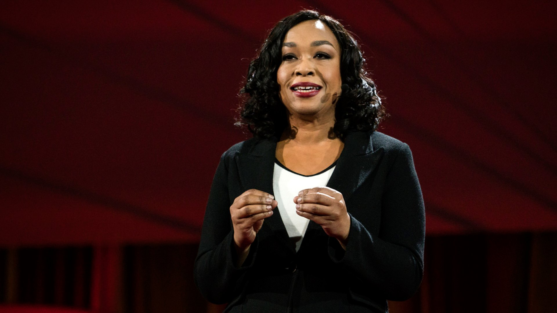 "Shonda Rhimes, the creator of TV hits ""Gray's Anatomy"" and ""Scandal."""