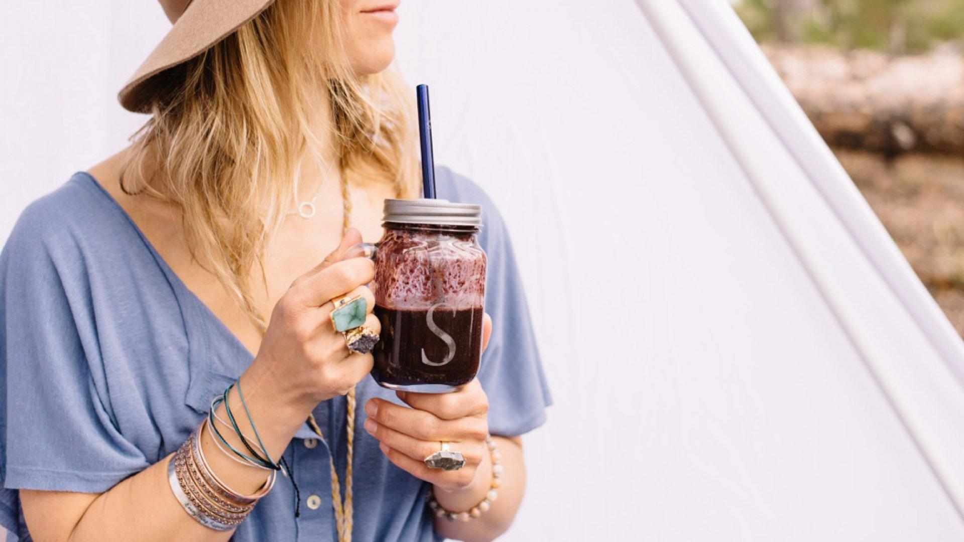 Simply Straw's borosilicate glass straws