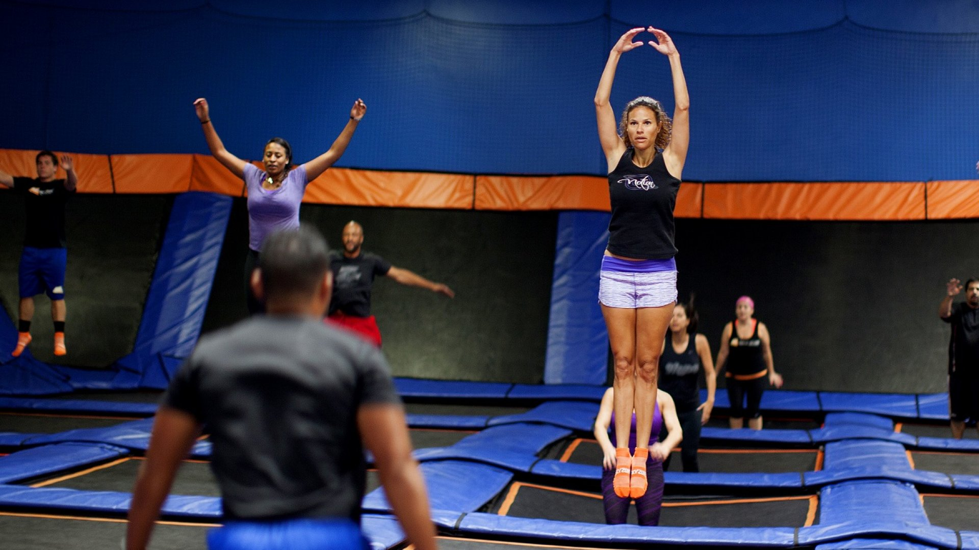 Indoor trampoline park SkyZone, no. 273 on this year's <em>Inc. 5000</em> and one of the ten fastest-growing franchises in America.