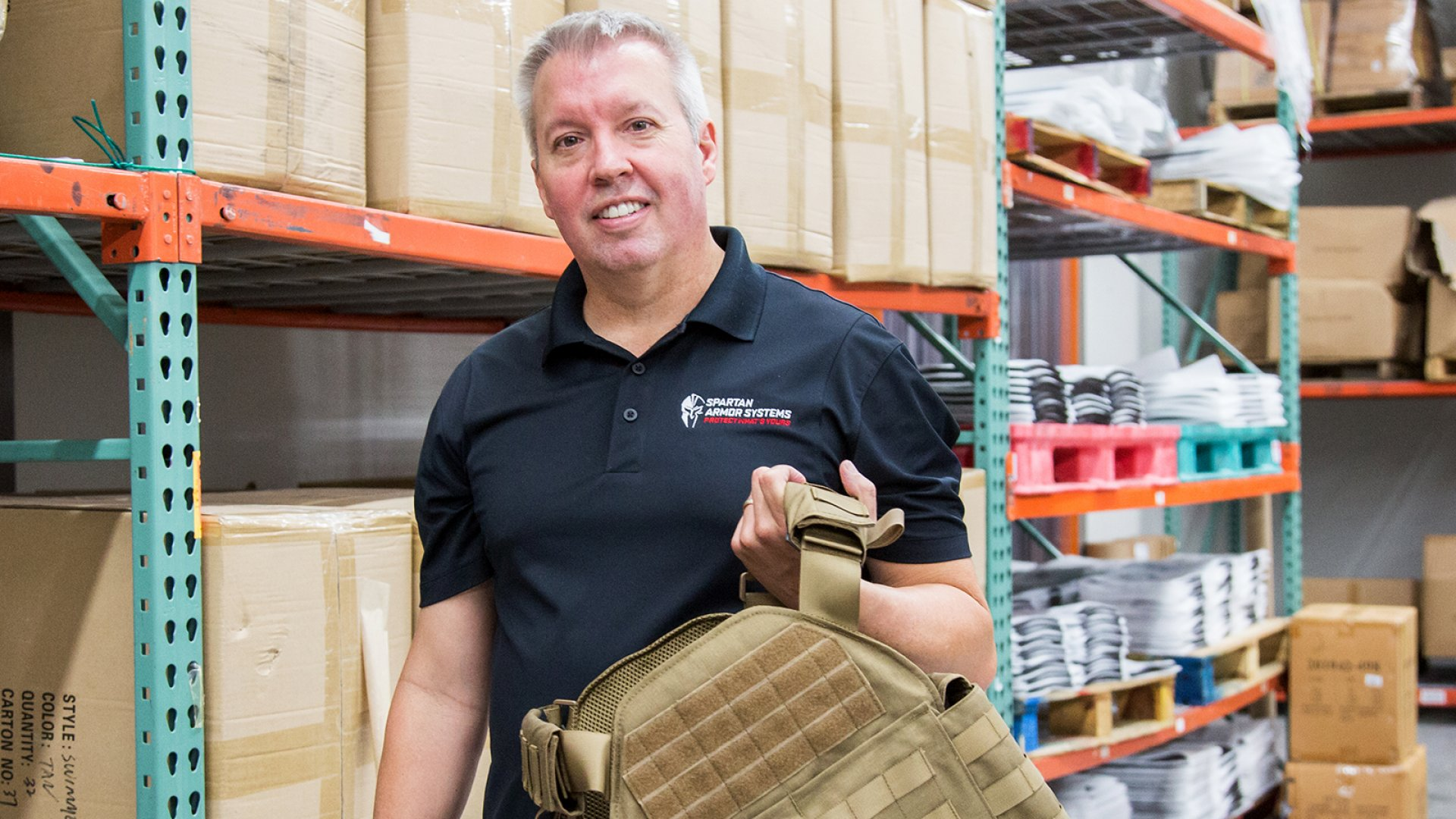 Spartan Armor Systems CEO Todd Meeks.