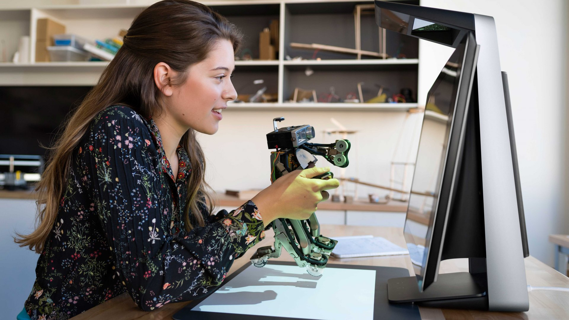The HP Sprout Pro is a digital workstation for artists, designers, and other creatives.