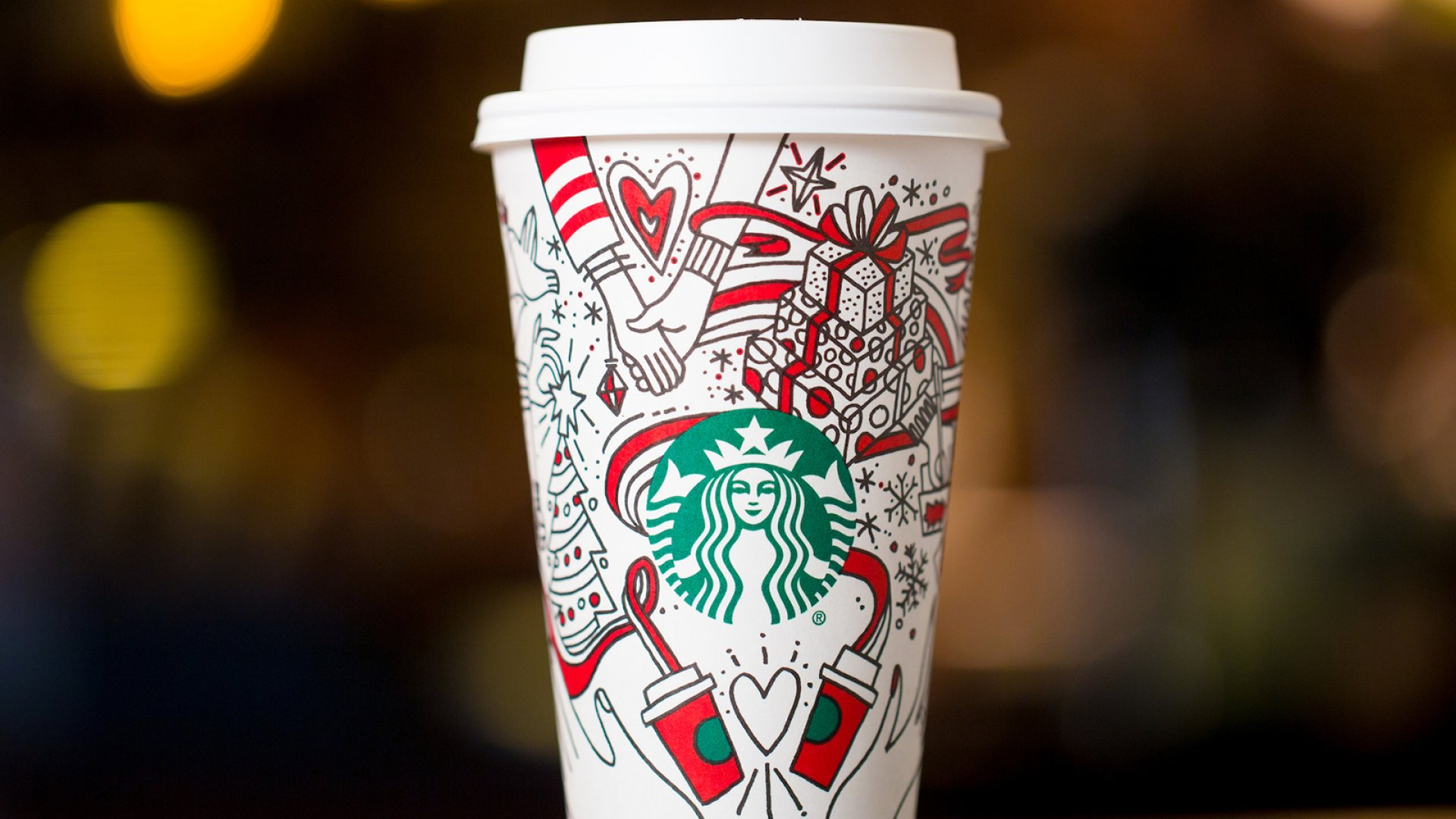 Starbucks Just Released Half-Finished Holiday Cups (Yes, It's Tired of Killing Christmas)
