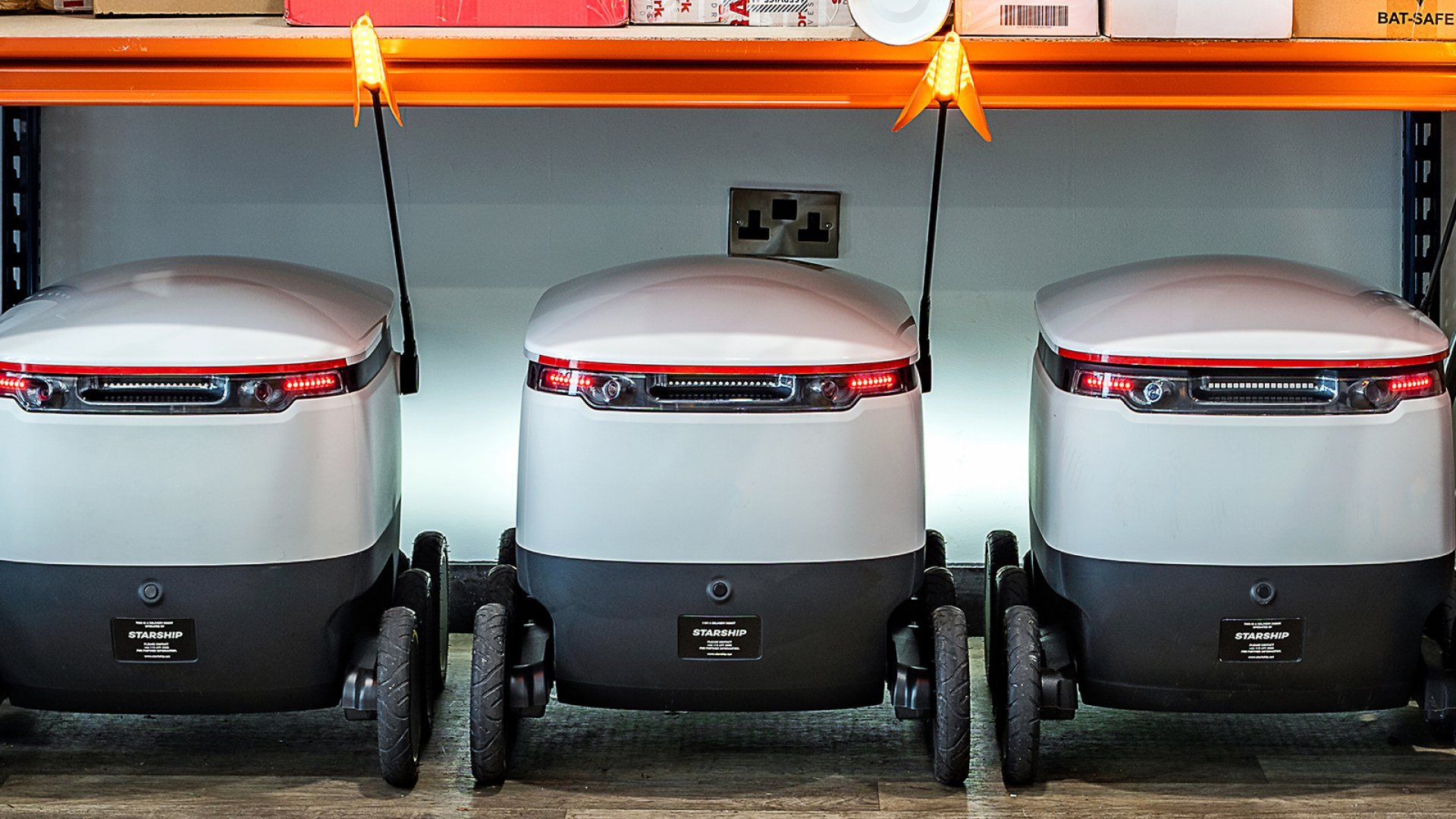 Lots of Companies Are Trying to Deliver Packages More Efficiently. This Startup Is Betting Its Tiny, 4-MPH Robots Will Win