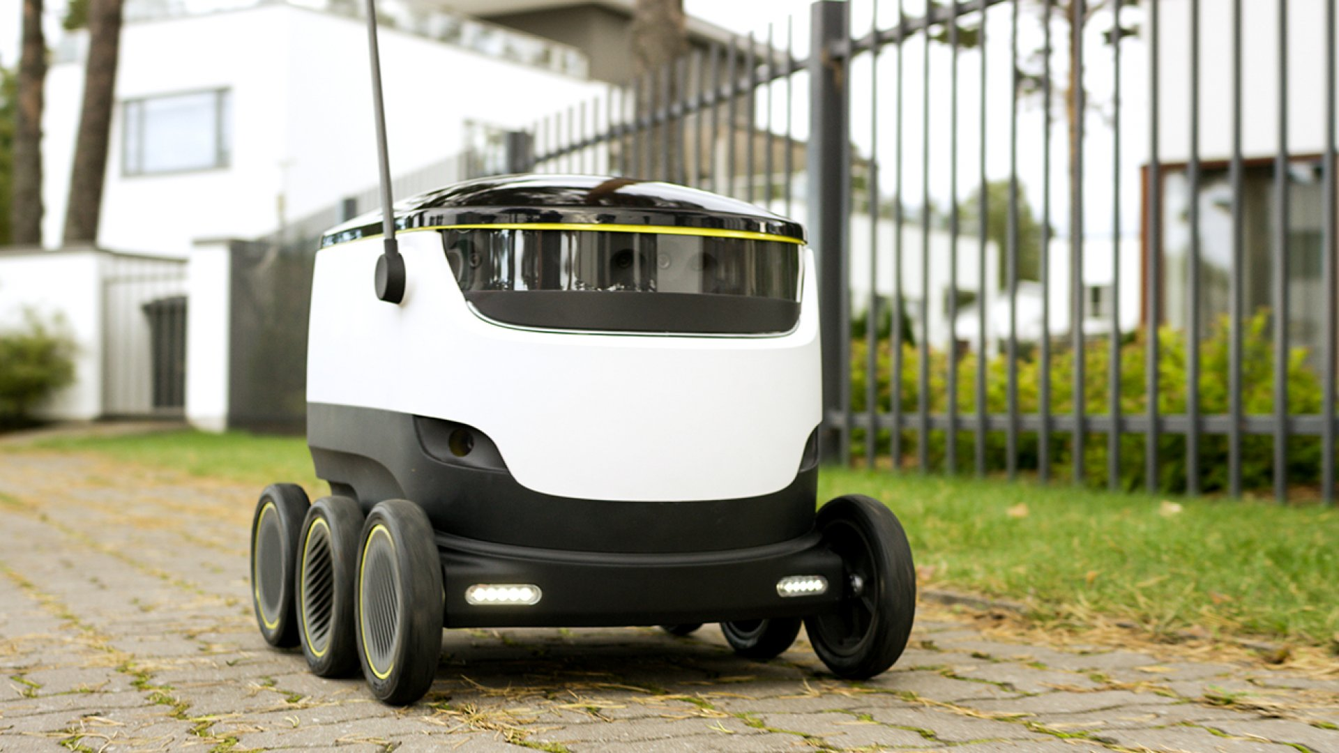 Skype Founders Bring Their Food Delivery Bots to the U.S.