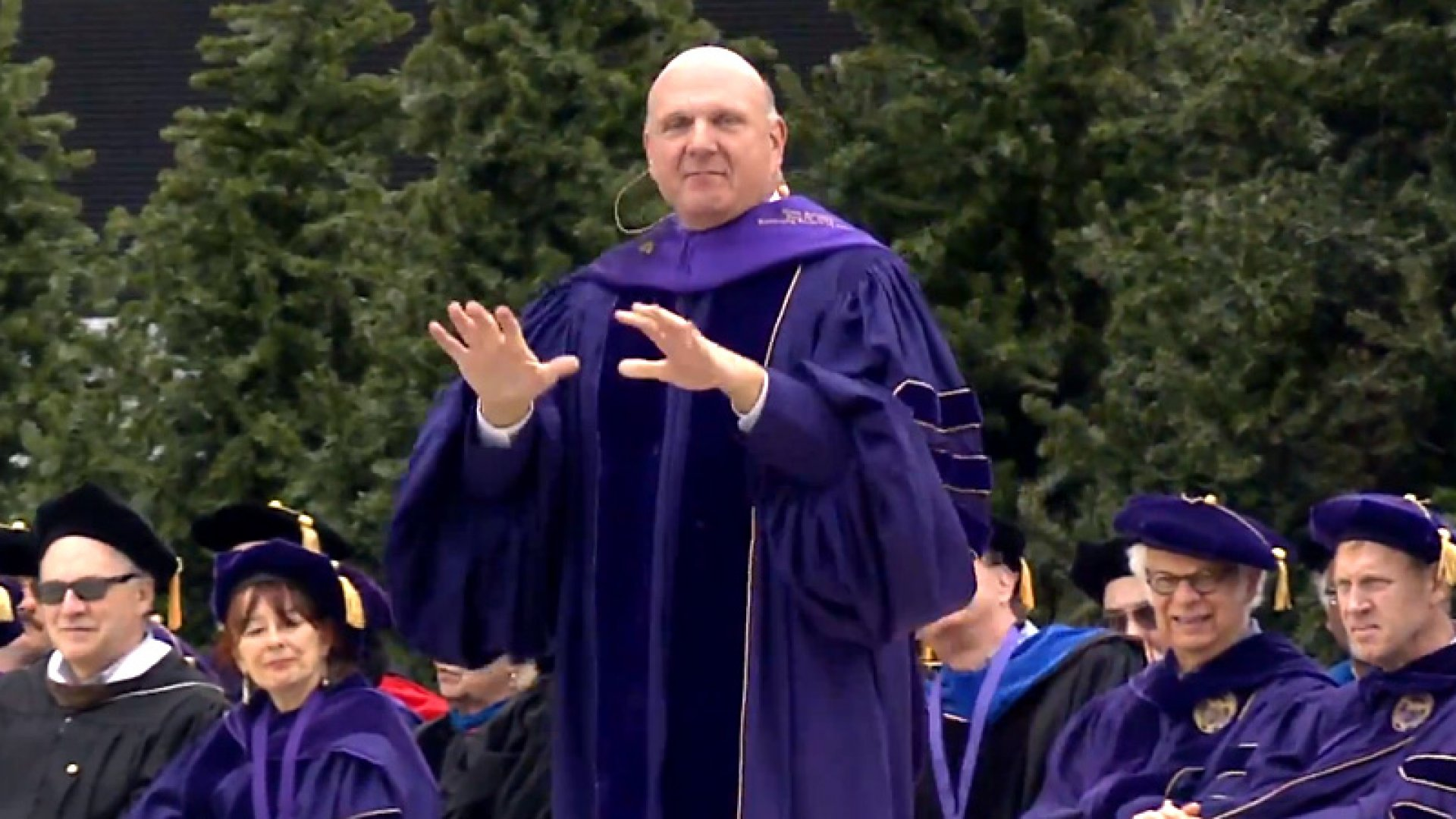 Steve Ballmer to New Grads: 'I, Too, Don't Know What I'm Doing'