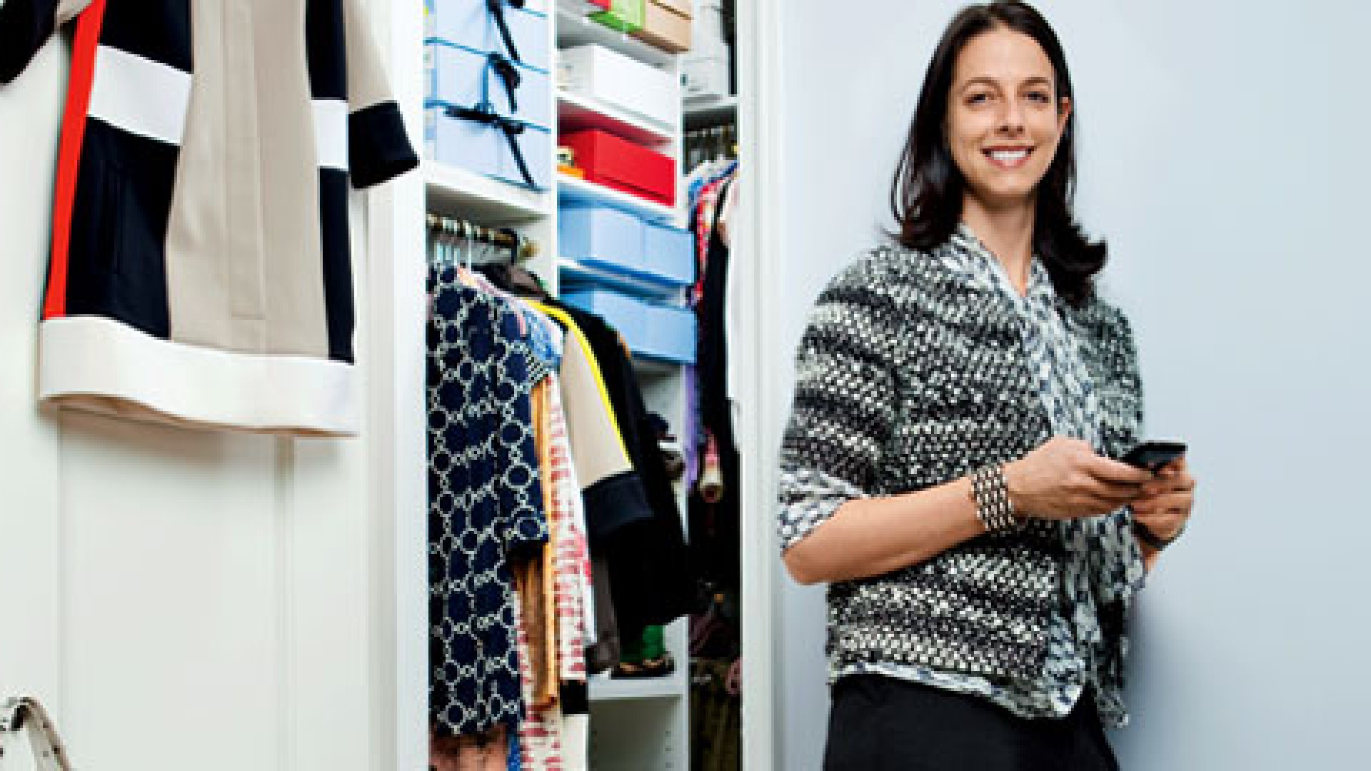 <strong>What's in Your Closet?</strong> Christine Elia's start-up lets women compare wardrobes -- and share plenty of fashion advice.