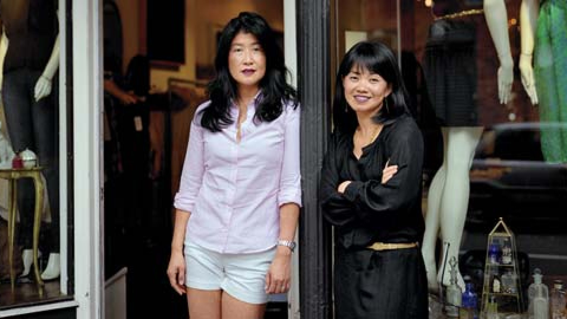 <strong>Bricks to Clicks</strong> Shu Kim and Khanh Pham provide free online stores for small businesses like Eponymy, this clothing boutique in Brooklyn, New York.
