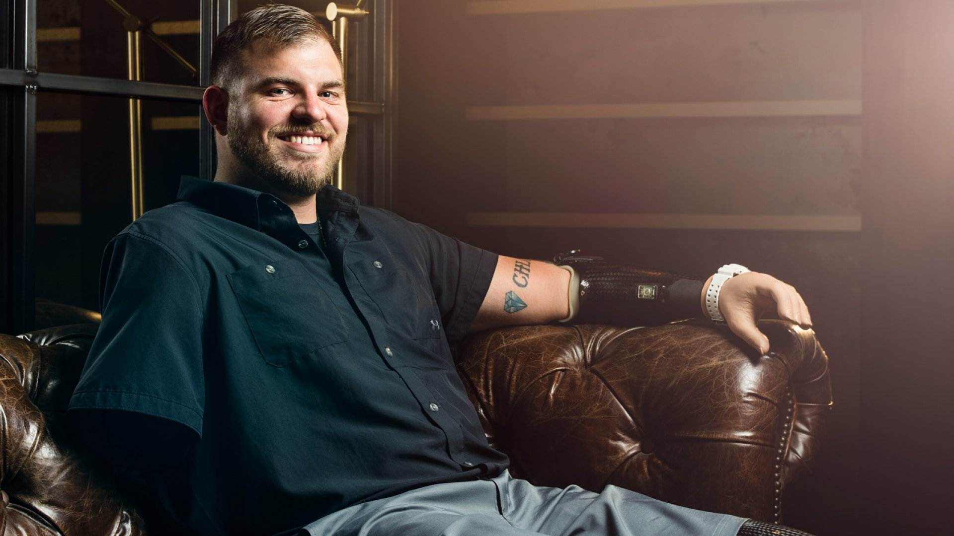A Soldier Who Lost His Limbs Say This is the Secret to Being Mentally Tough