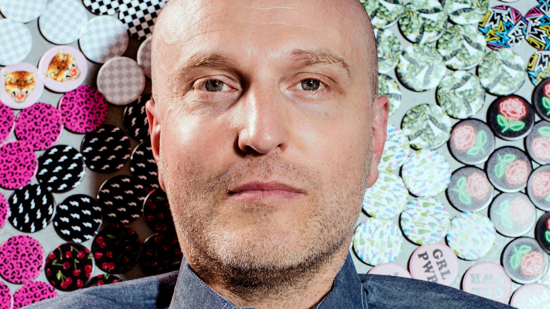 PopSockets founder David Barnett.